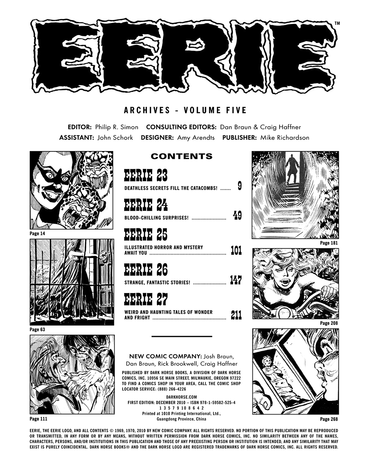 Read online Eerie Archives comic -  Issue # TPB 5 - 4