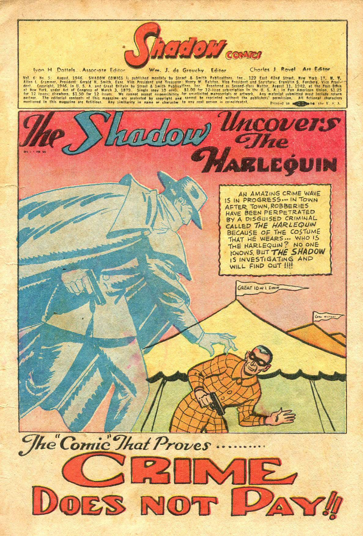 Read online Shadow Comics comic -  Issue #65 - 3
