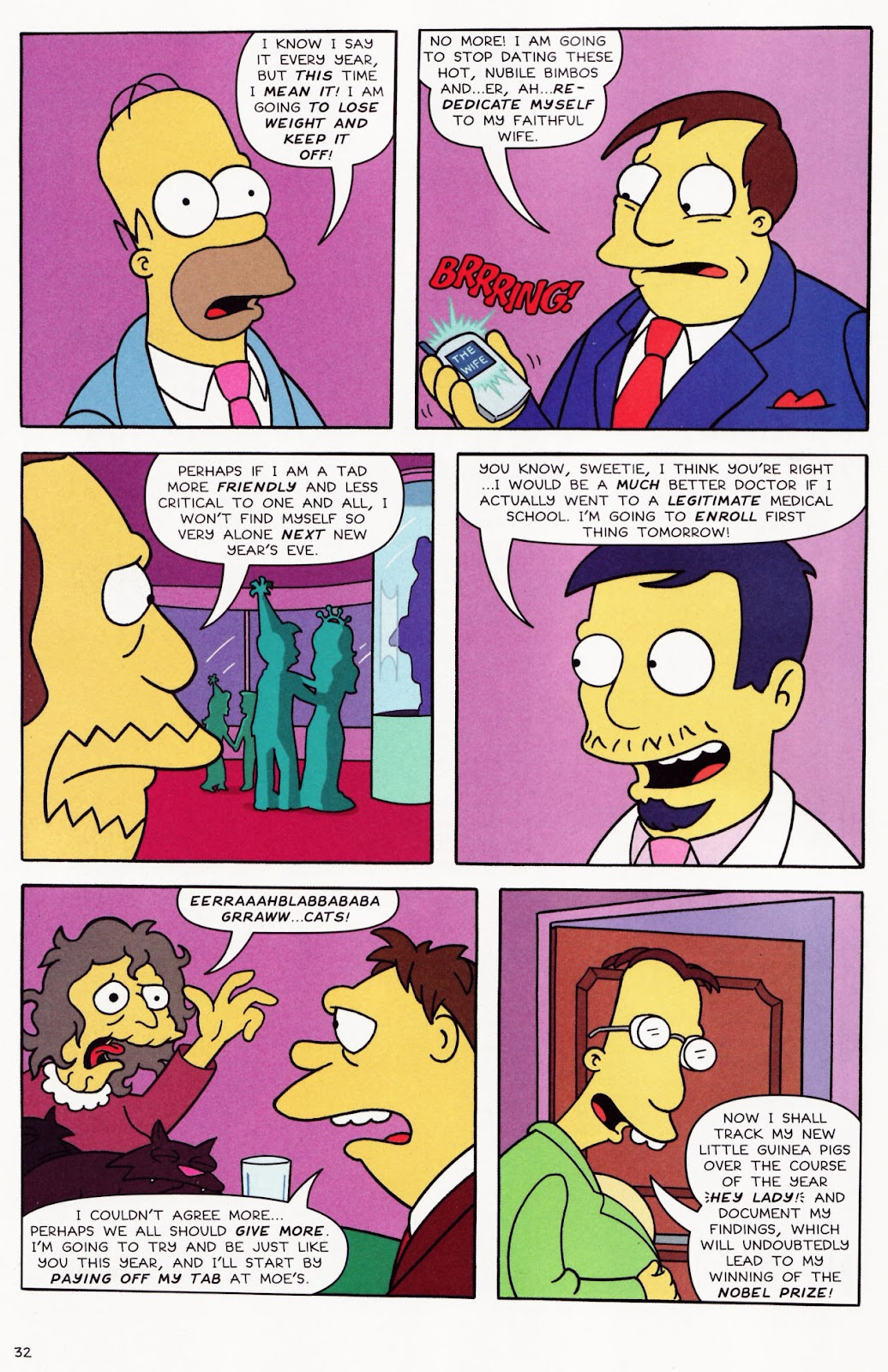 Read online The Simpsons Winter Wingding comic -  Issue #2 - 33