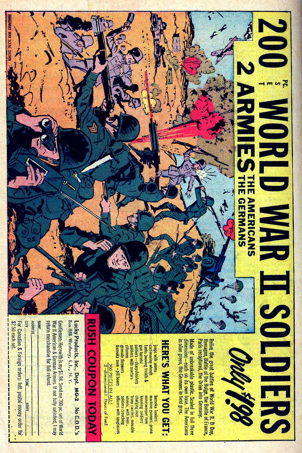 Read online Sgt. Fury comic -  Issue #39 - 34