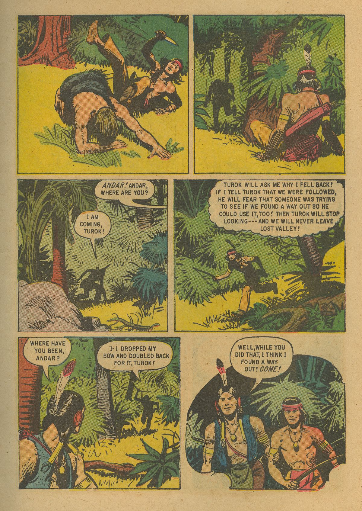 Read online Turok, Son of Stone comic -  Issue #19 - 9