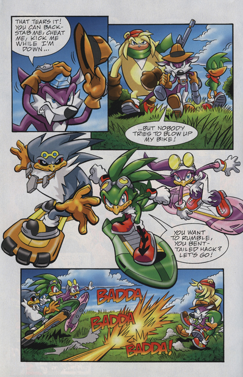 Read online Sonic Universe comic -  Issue #23 - 20