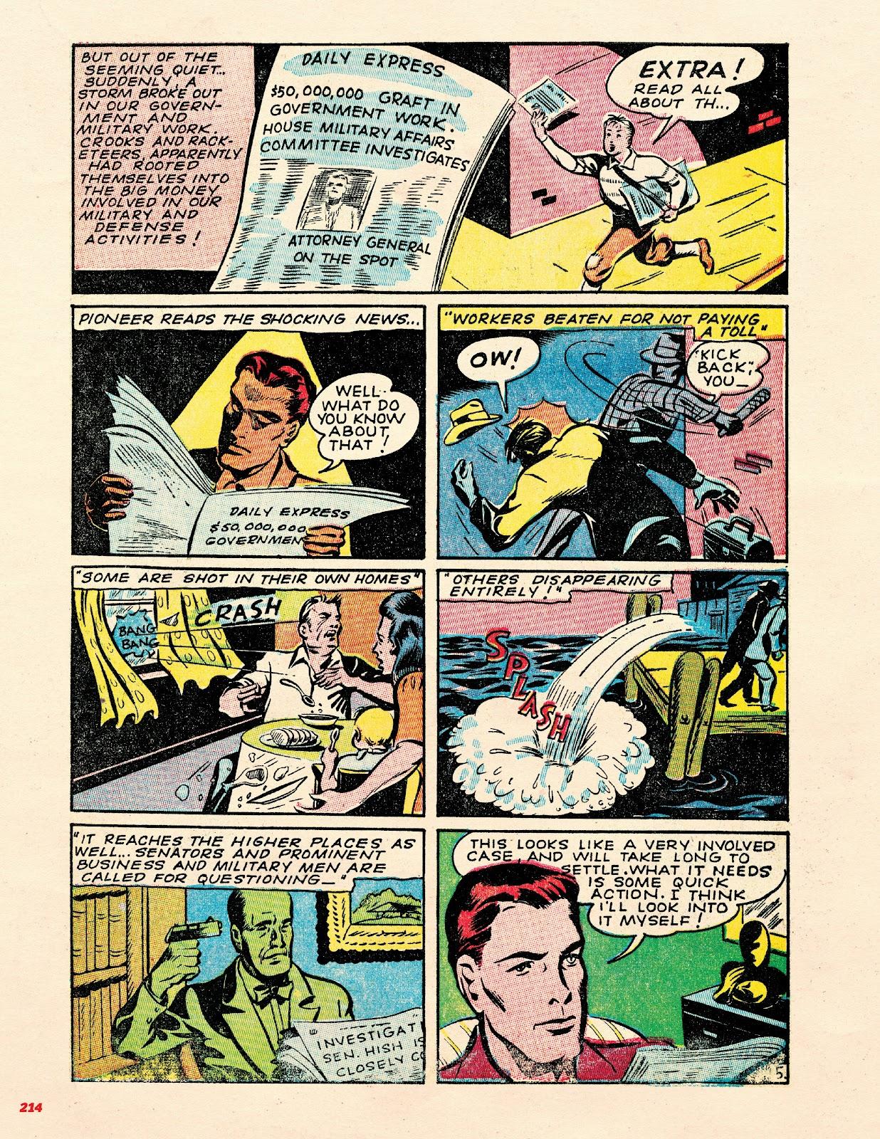 Read online Super Weird Heroes comic -  Issue # TPB 2 (Part 3) - 14