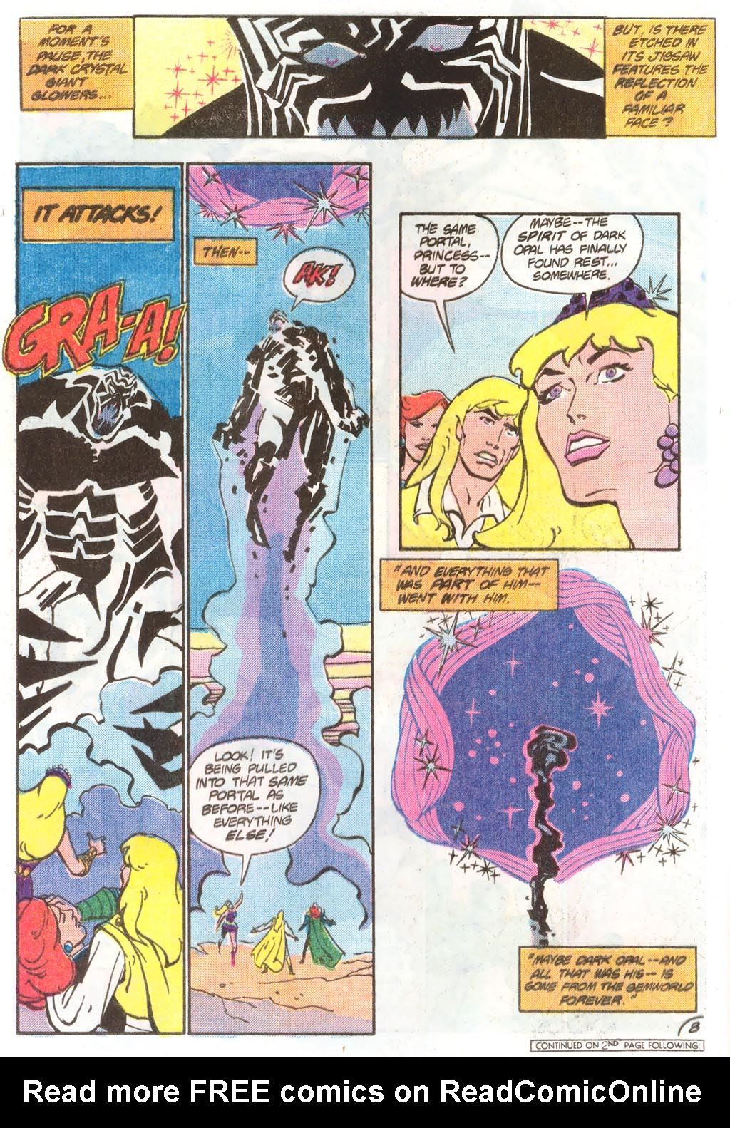 Read online Amethyst (1985) comic -  Issue #11 - 12