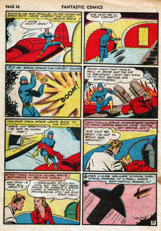 Read online Fantastic Comics comic -  Issue #18 - 30