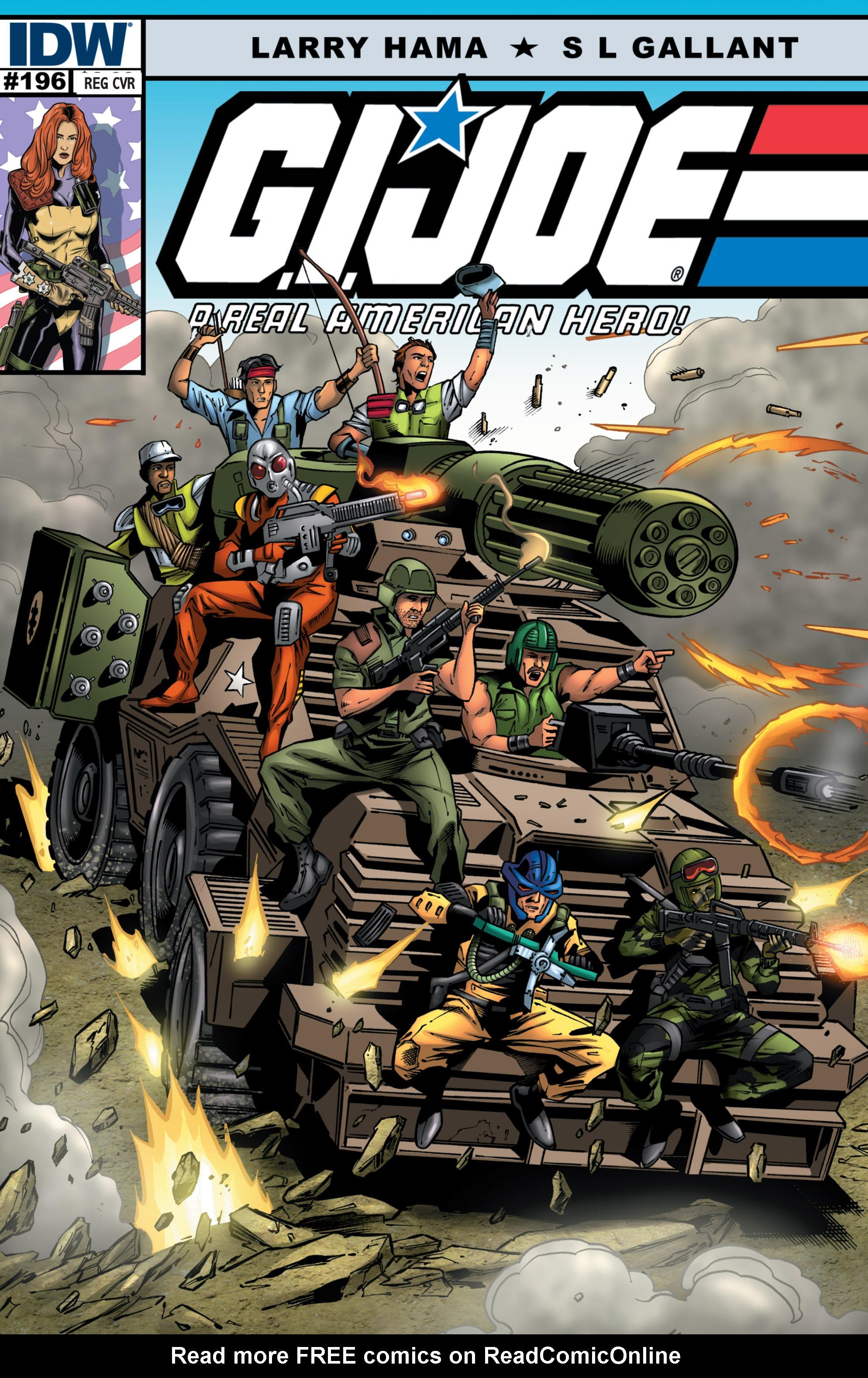 G.I. Joe: A Real American Hero 196 Page 1