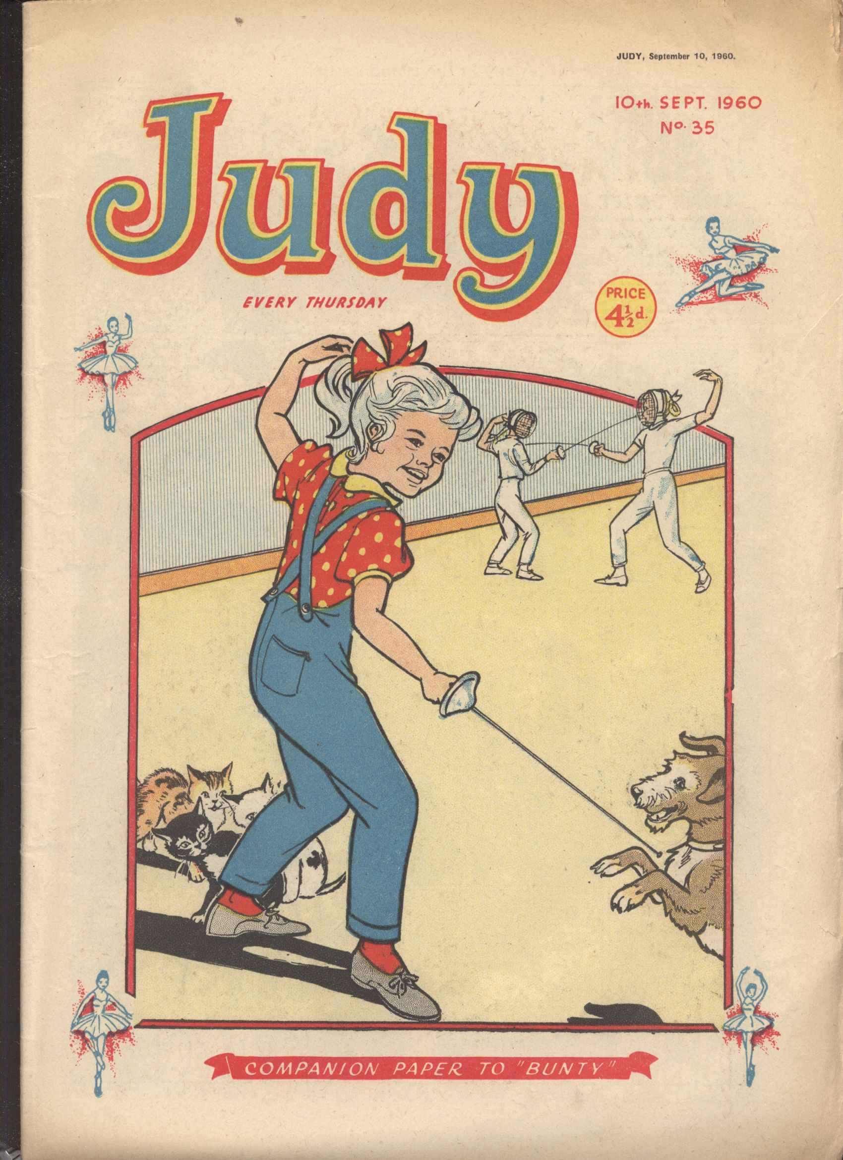 Read online Judy comic -  Issue #35 - 1
