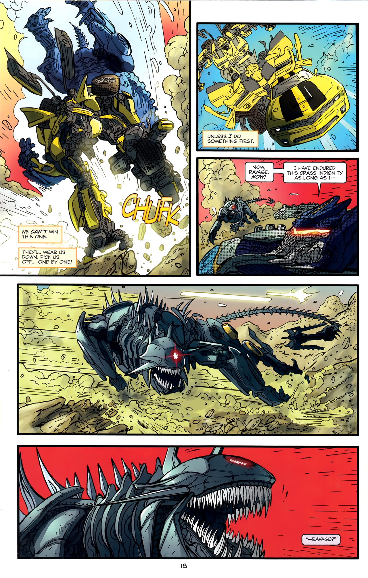 Read online Transformers: Nefarious comic -  Issue #3 - 21