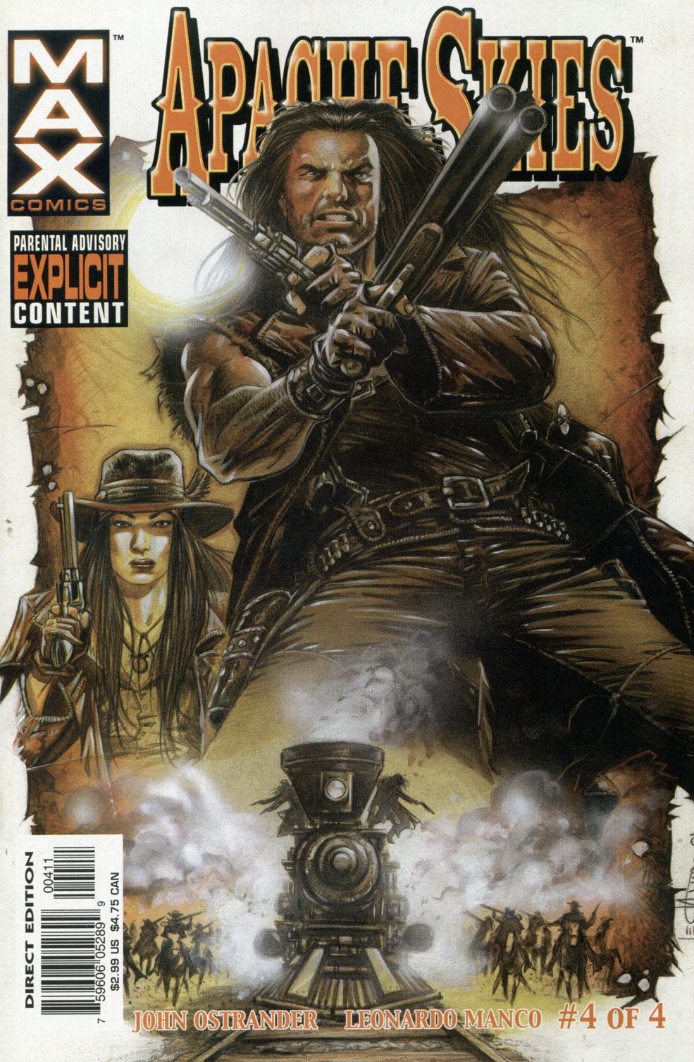 Read online Apache Skies comic -  Issue #4 - 1