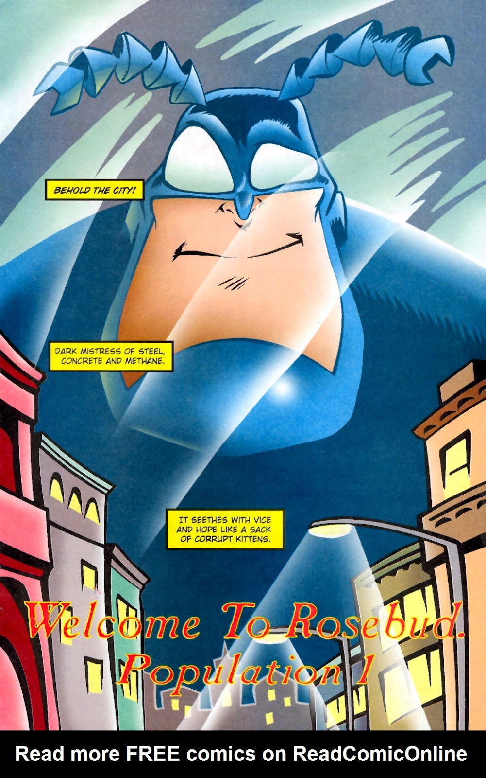 Read online The Tick: Days of Drama comic -  Issue #1 - 5