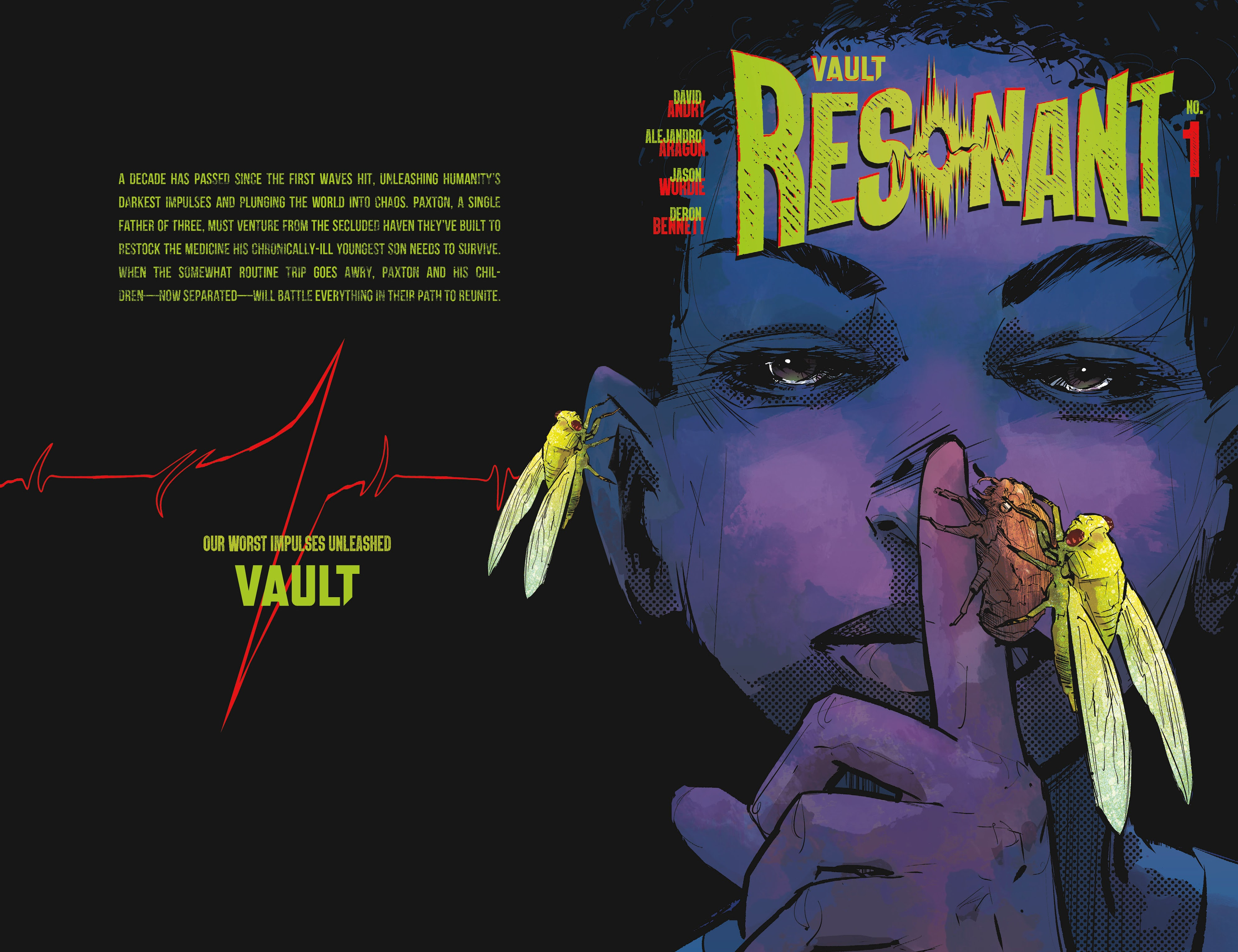 Read online Resonant comic -  Issue #1 - 1