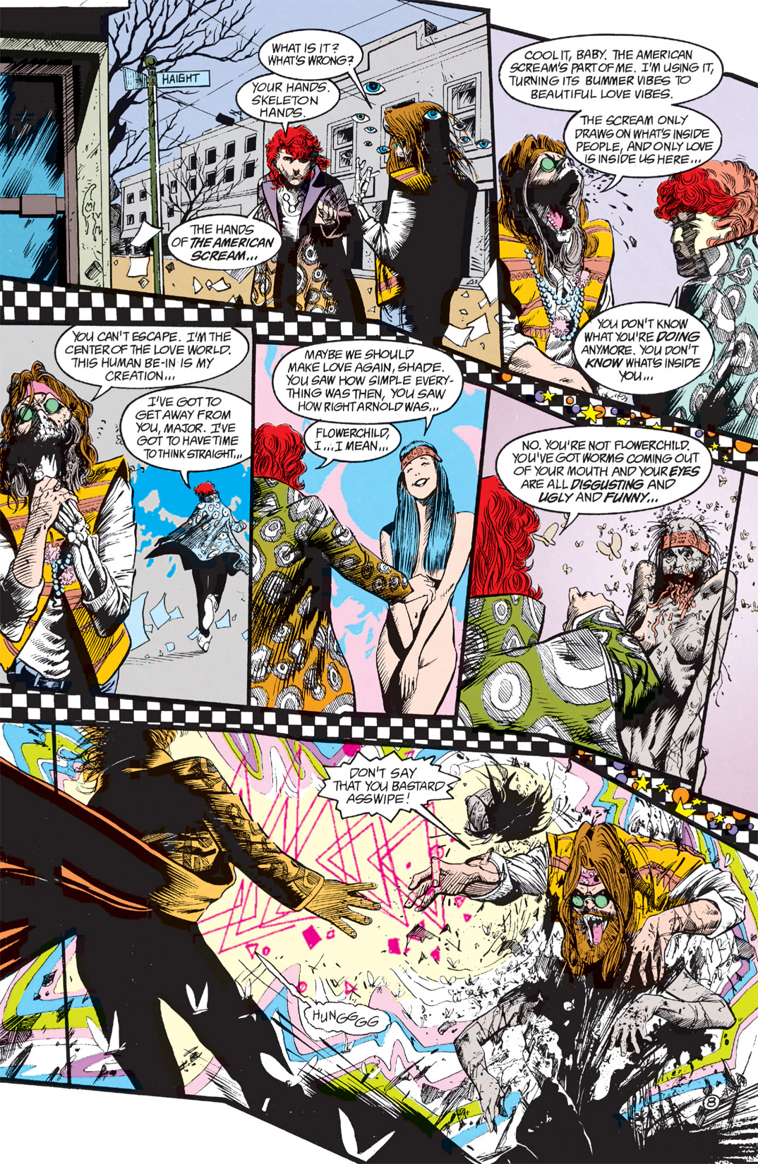 Read online Shade, the Changing Man comic -  Issue #9 - 7