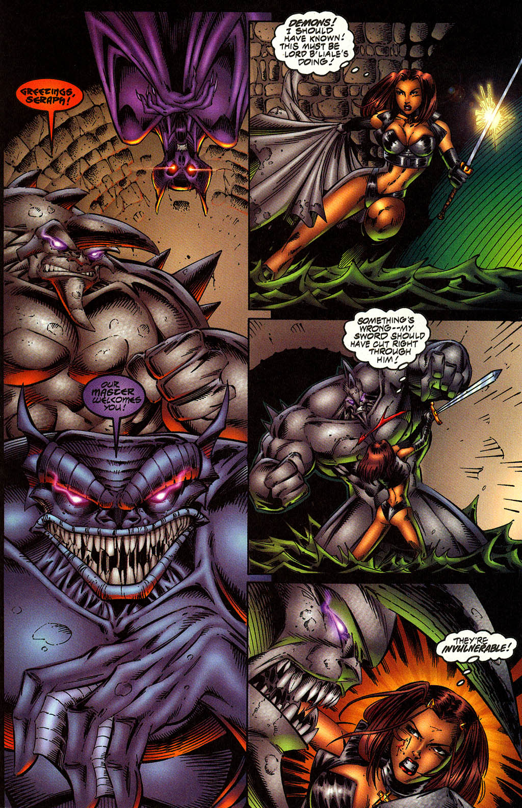 Read online Avengelyne (1996) comic -  Issue #10 - 13