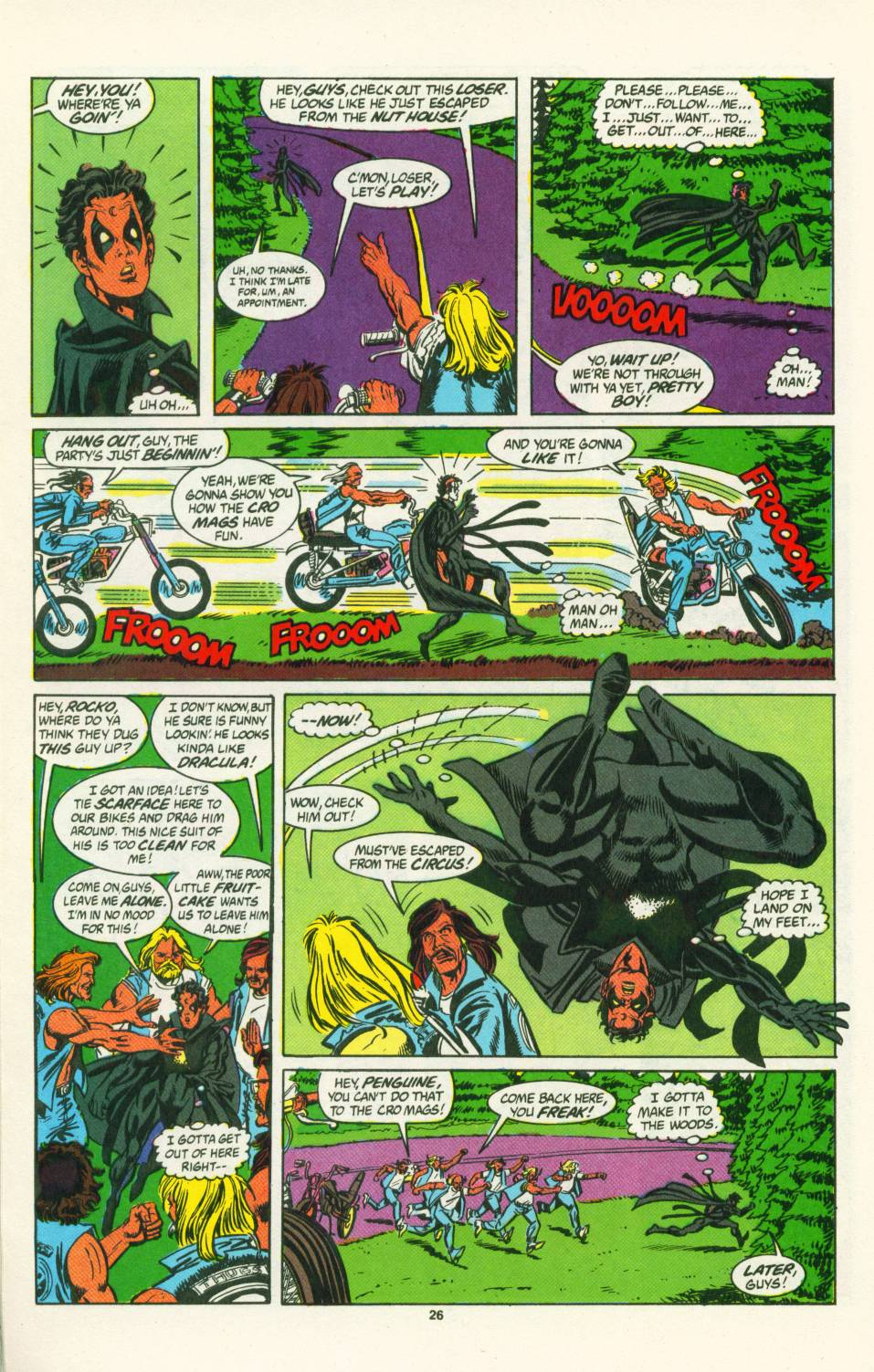 Read online Justice (1986) comic -  Issue #25 - 27