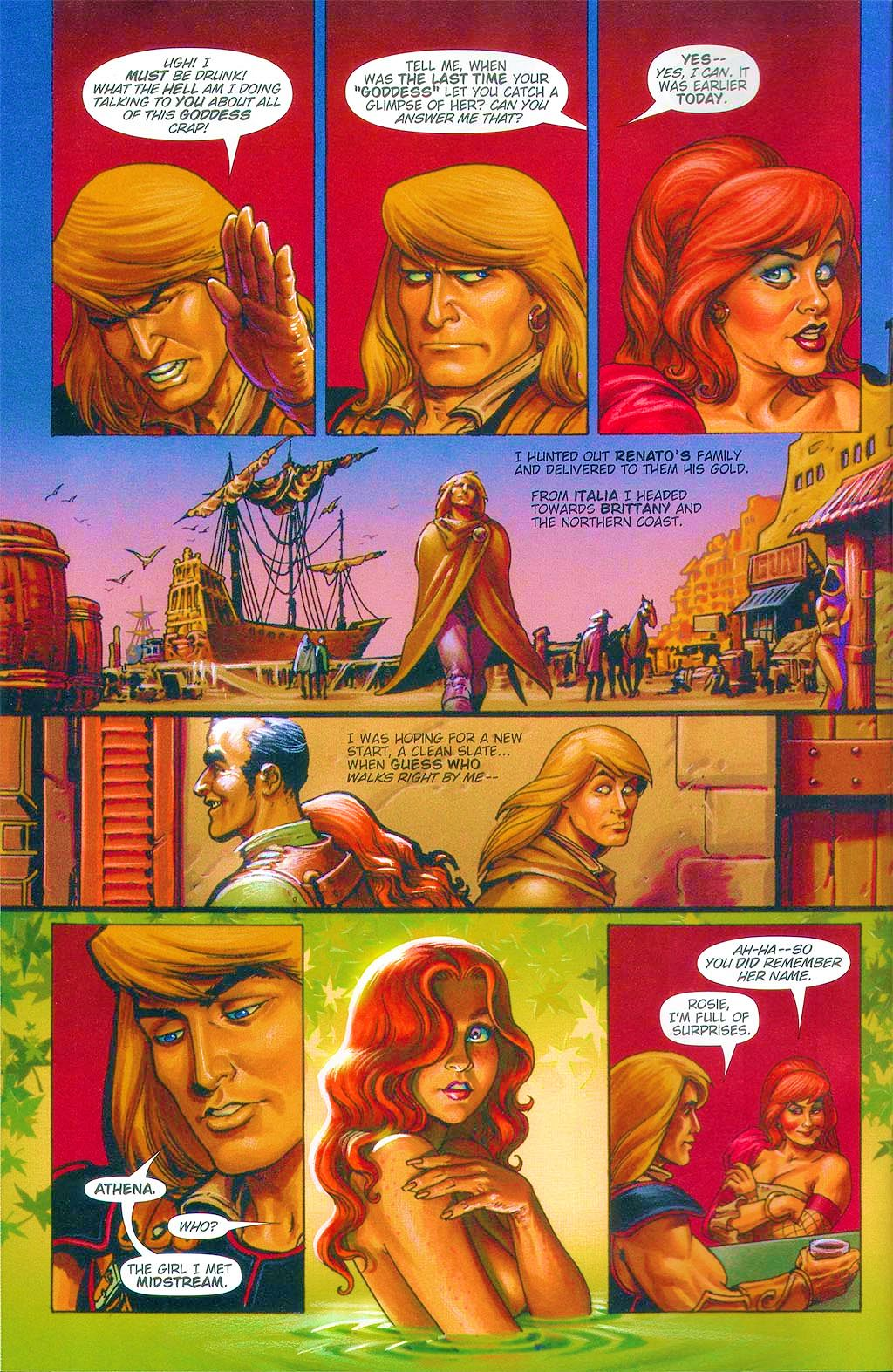 Read online Dawn: Three Tiers comic -  Issue #6 - 4