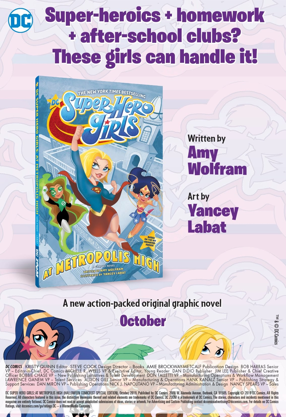 Read online DC Super Hero Girls: At Metropolis High (Halloween ComicFest Special Edition) comic -  Issue # Full - 14
