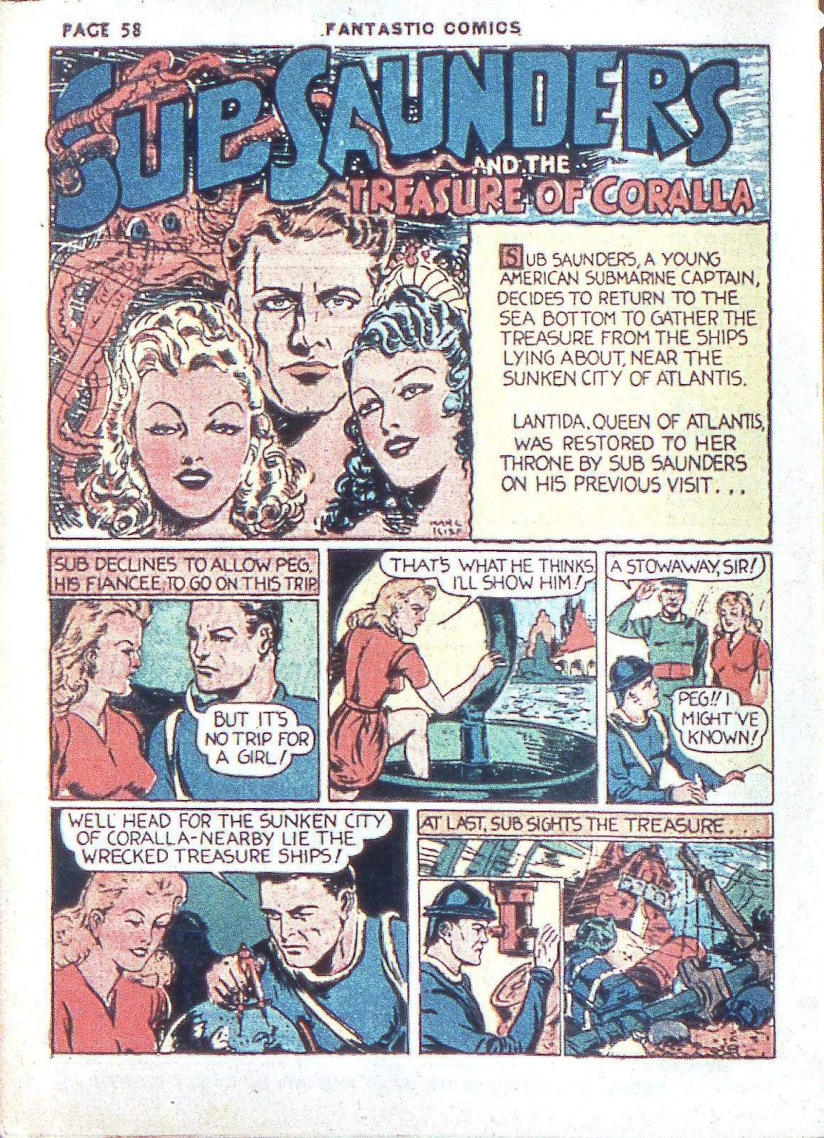 Read online Fantastic Comics comic -  Issue #3 - 60