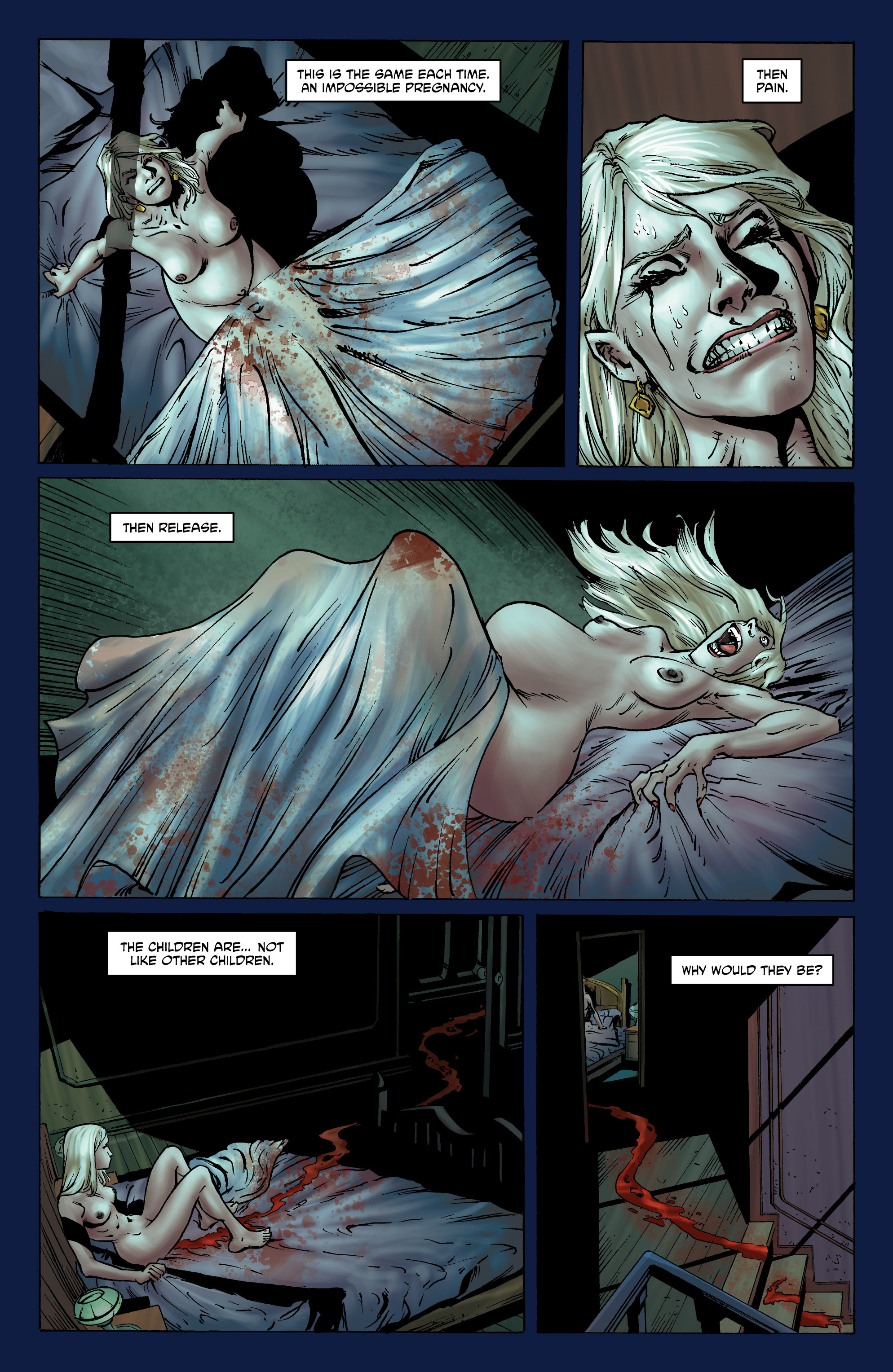 Read online God is Dead: Book of Acts comic -  Issue # Omega - 40