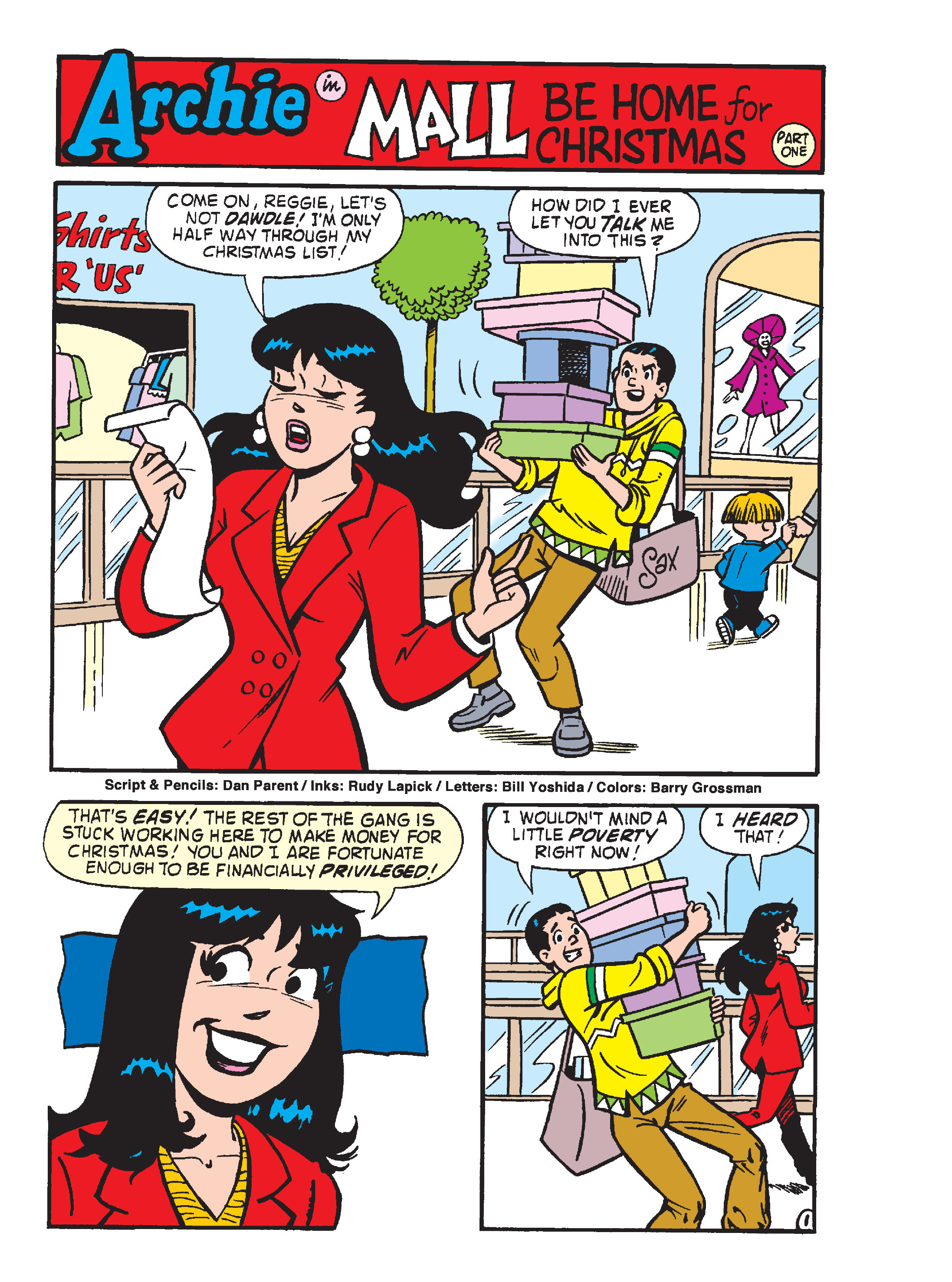 Read online Archie's Funhouse Double Digest comic -  Issue #23 - 171
