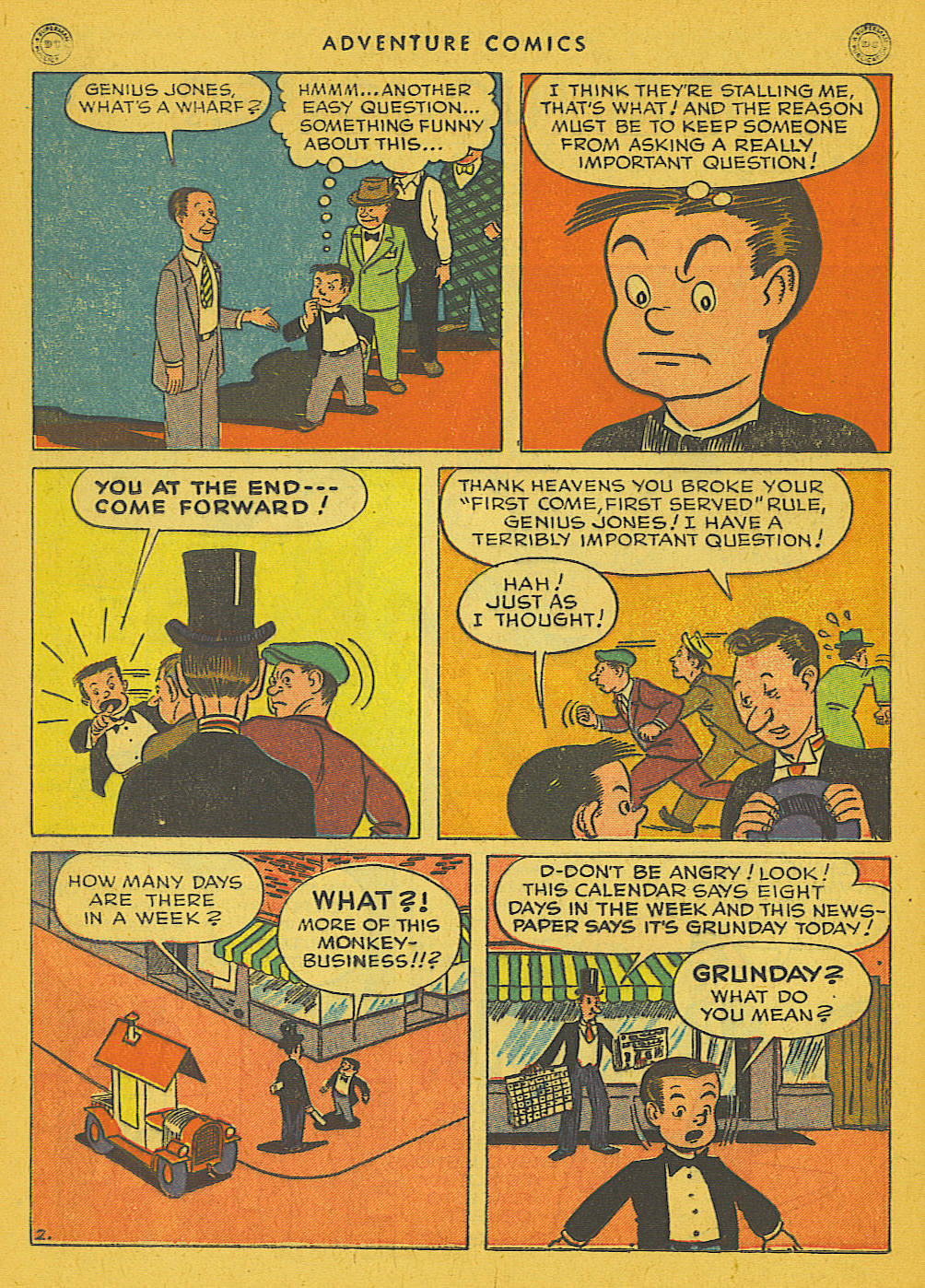 Read online Adventure Comics (1938) comic -  Issue #102 - 28