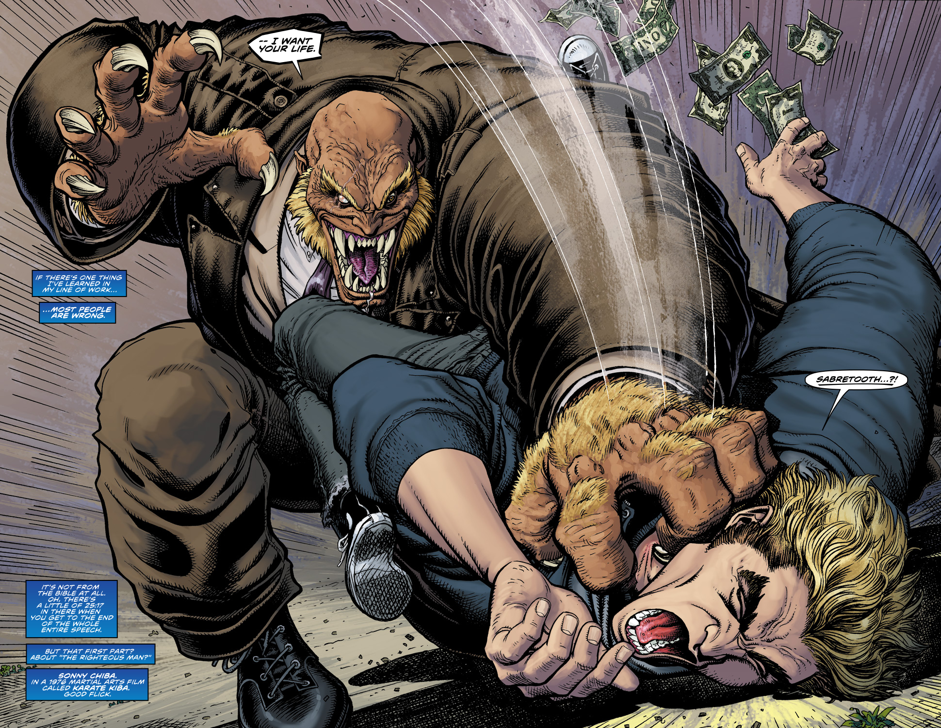 Read online Ultimate X comic -  Issue #5 - 4