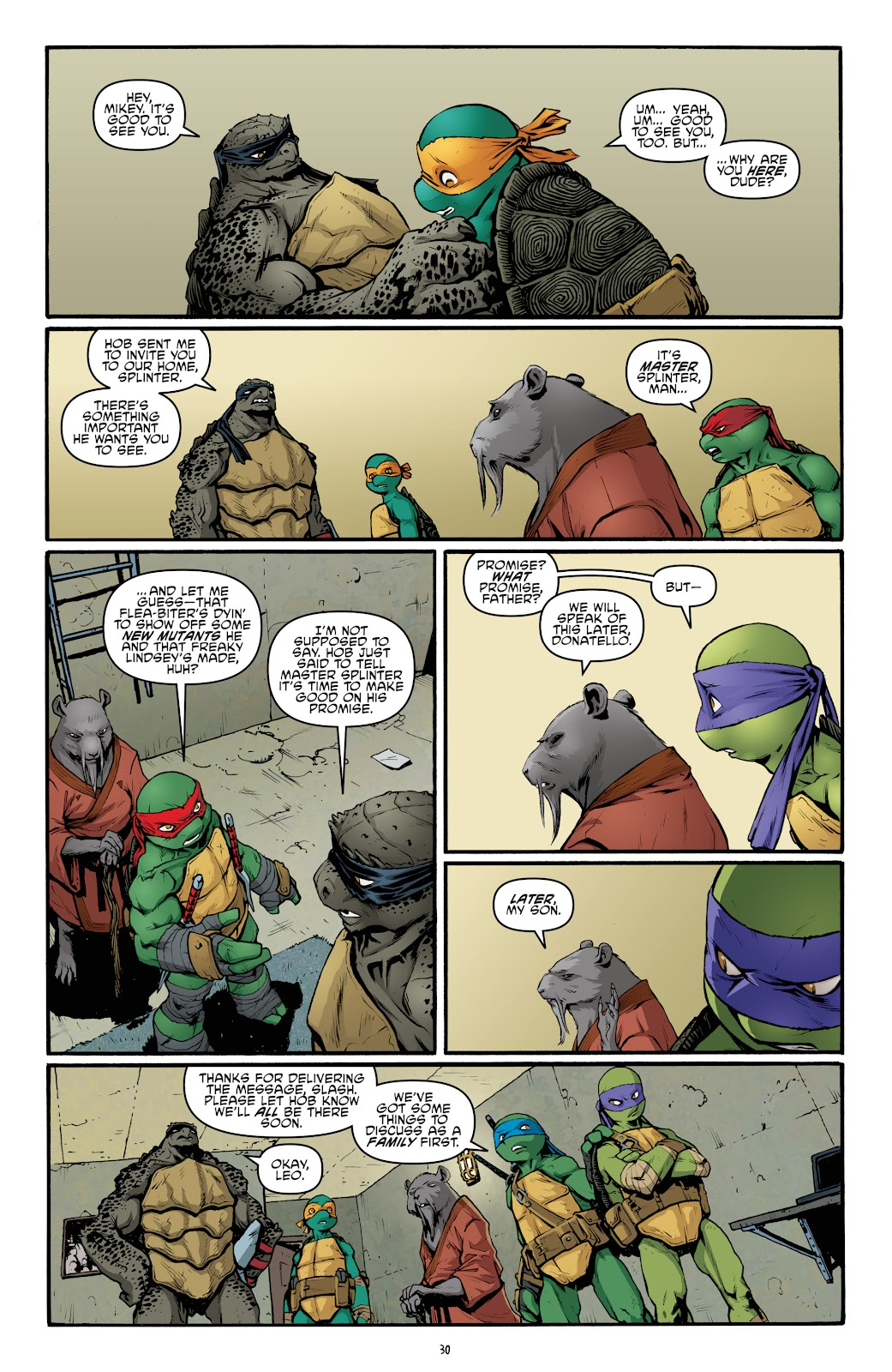 Read online Teenage Mutant Ninja Turtles: The IDW Collection comic -  Issue # TPB 5 (Part 2) - 6