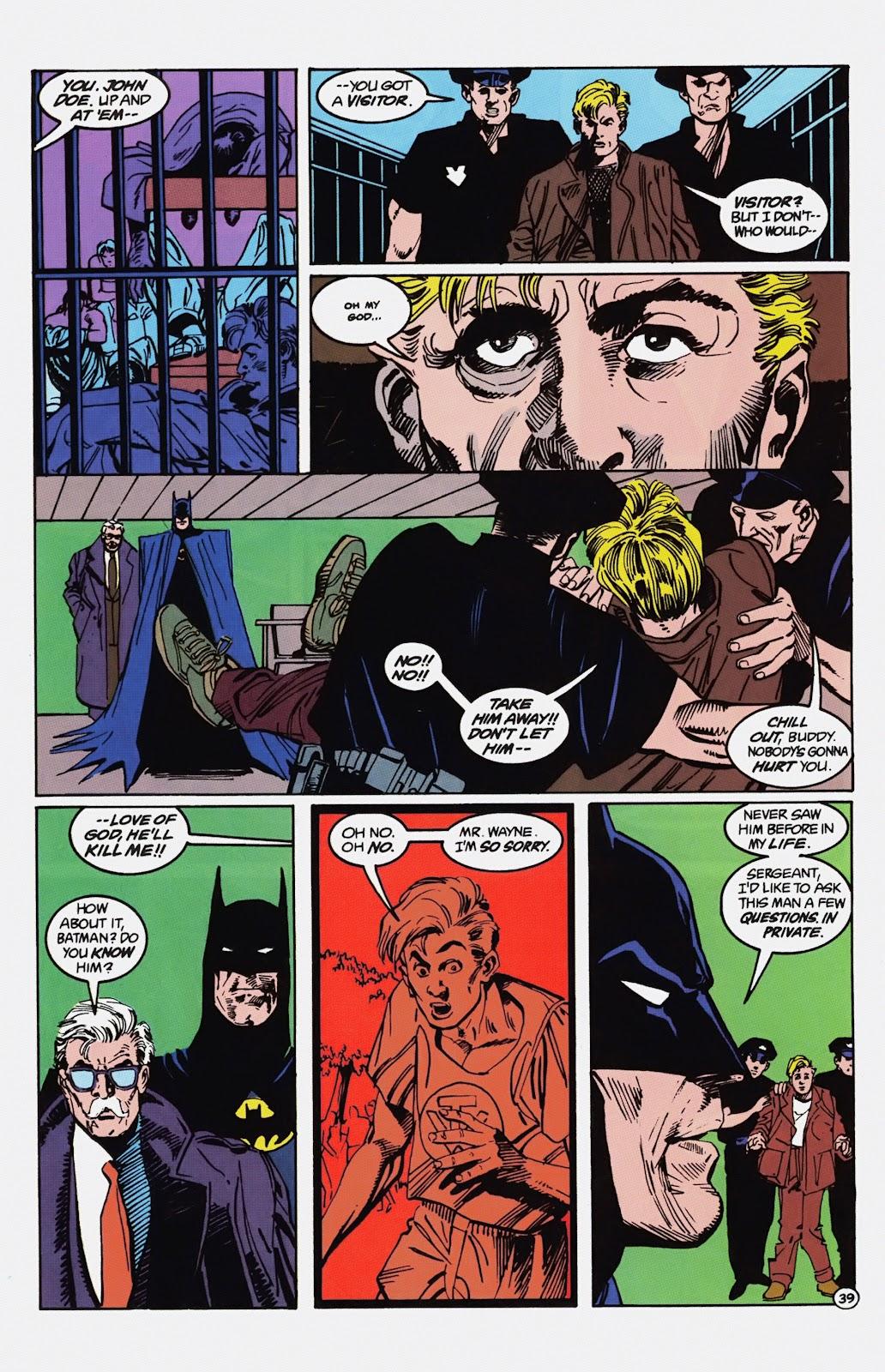 Read online Detective Comics (1937) comic -  Issue # _TPB Batman - Blind Justice (Part 1) - 44