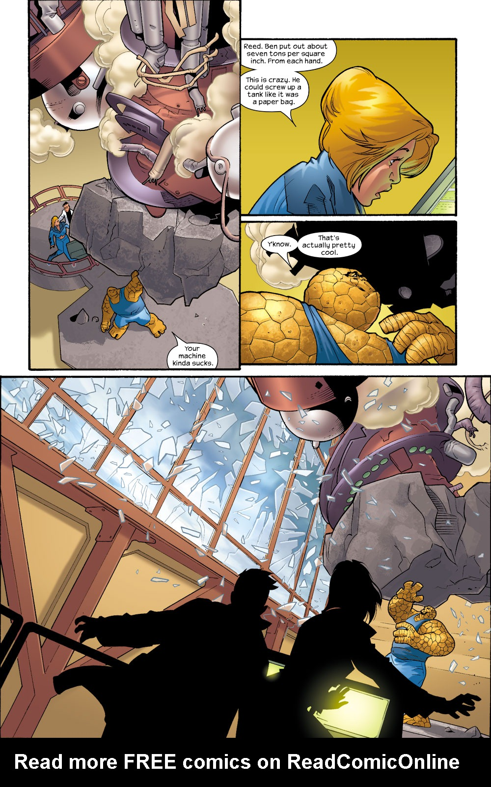 Read online Ultimate Fantastic Four (2004) comic -  Issue #8 - 16