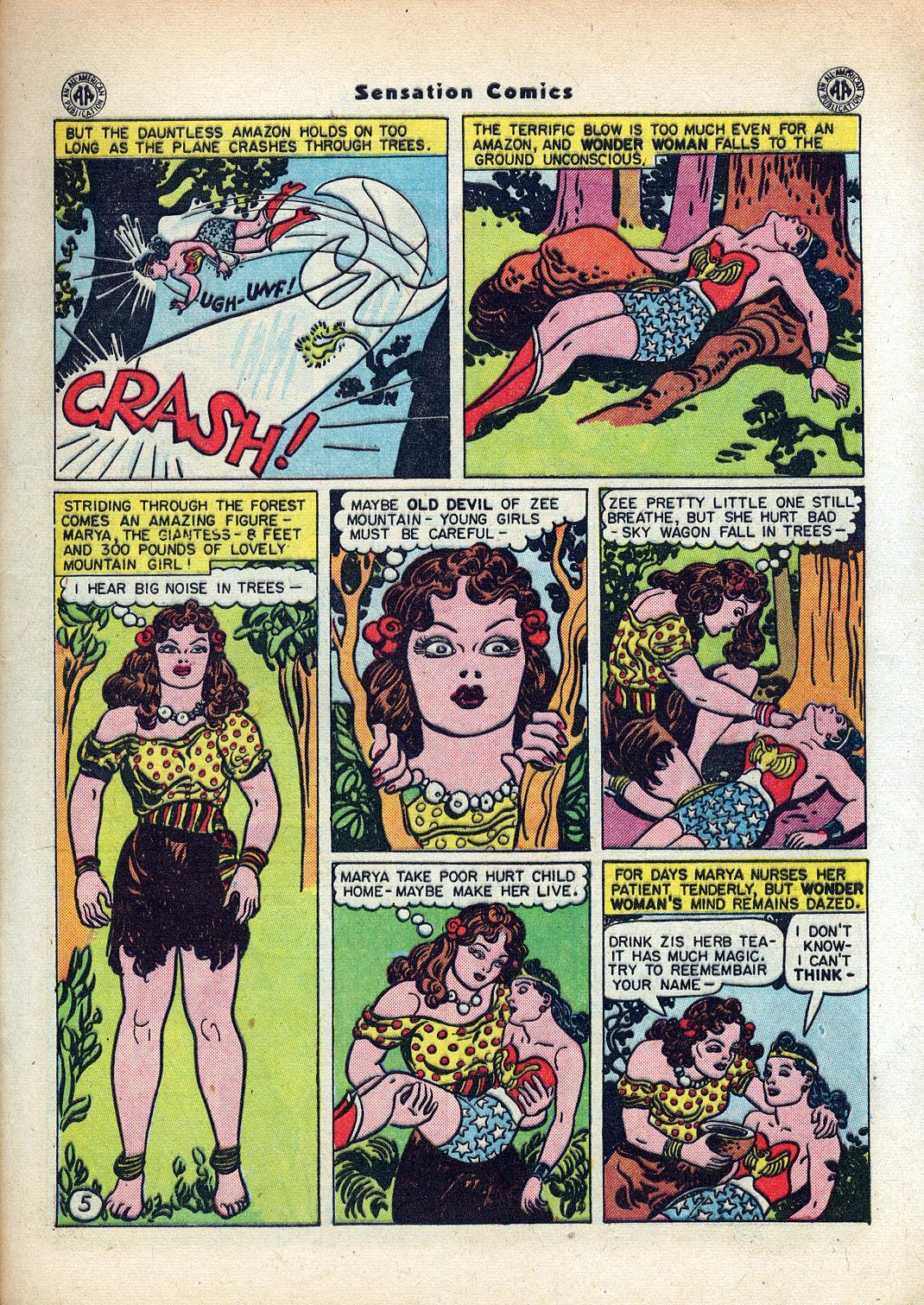 Read online Sensation (Mystery) Comics comic -  Issue #45 - 7