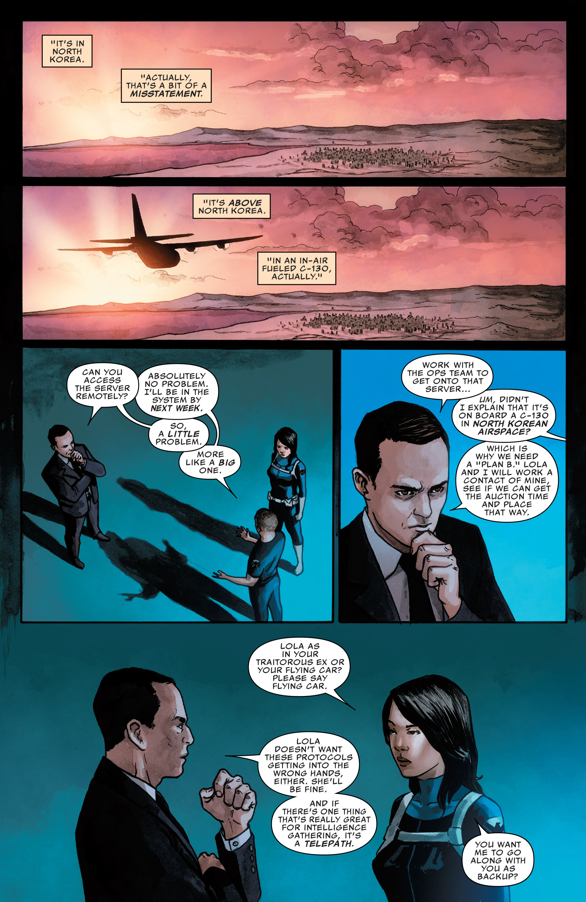 Read online Agents of S.H.I.E.L.D. comic -  Issue #2 - 10
