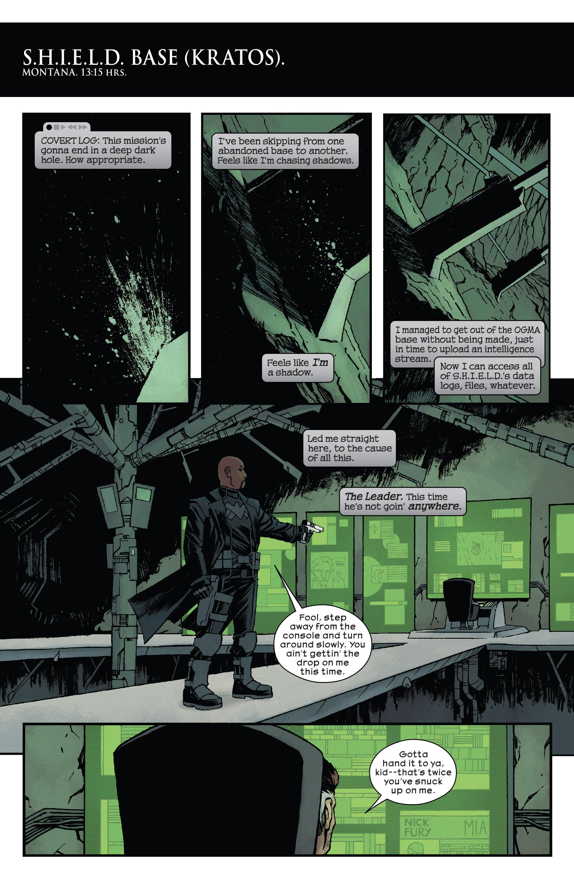 Read online Civil War II: Choosing Sides comic -  Issue #5 - 17