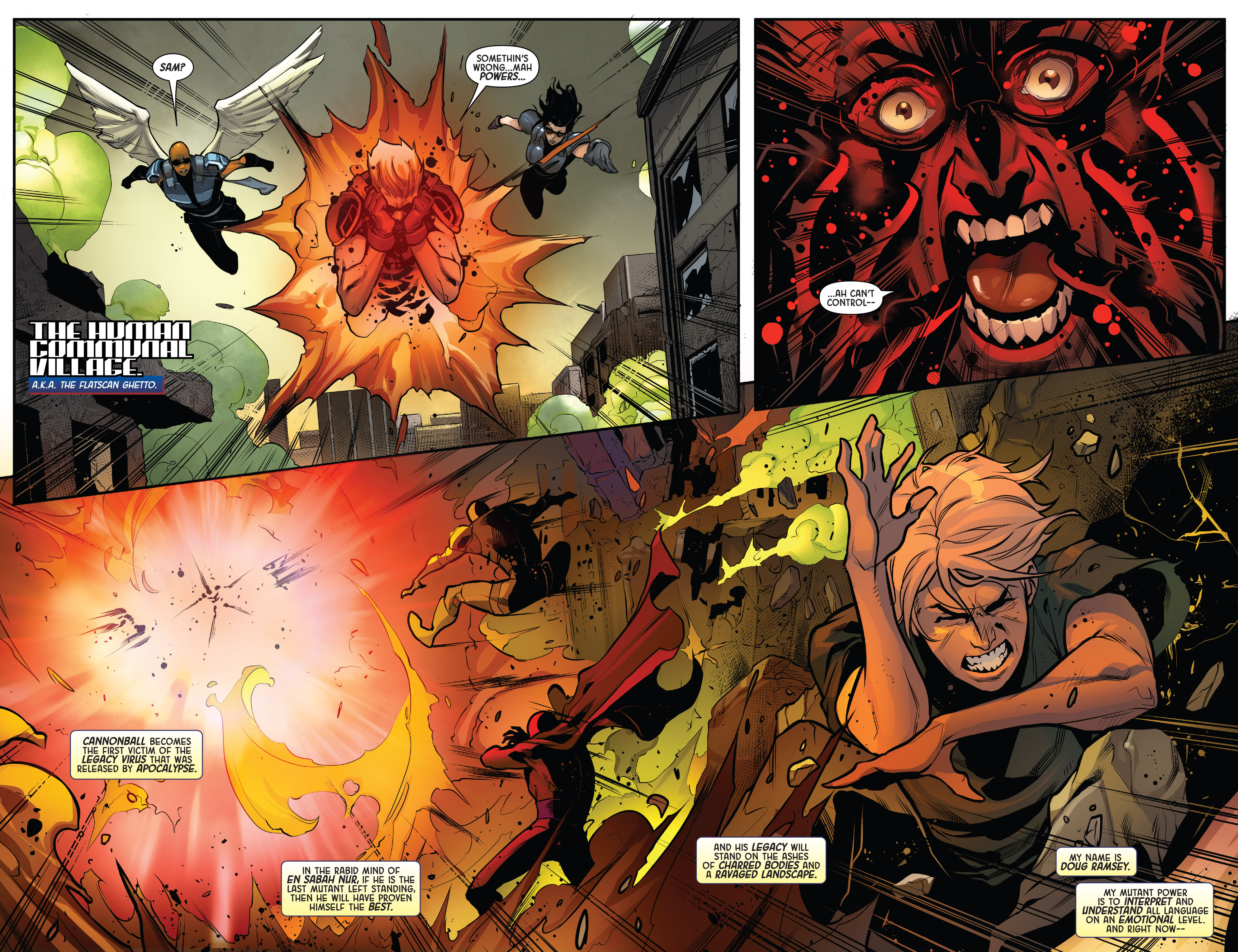 Read online Age of Apocalypse (2015) comic -  Issue #4 - 3
