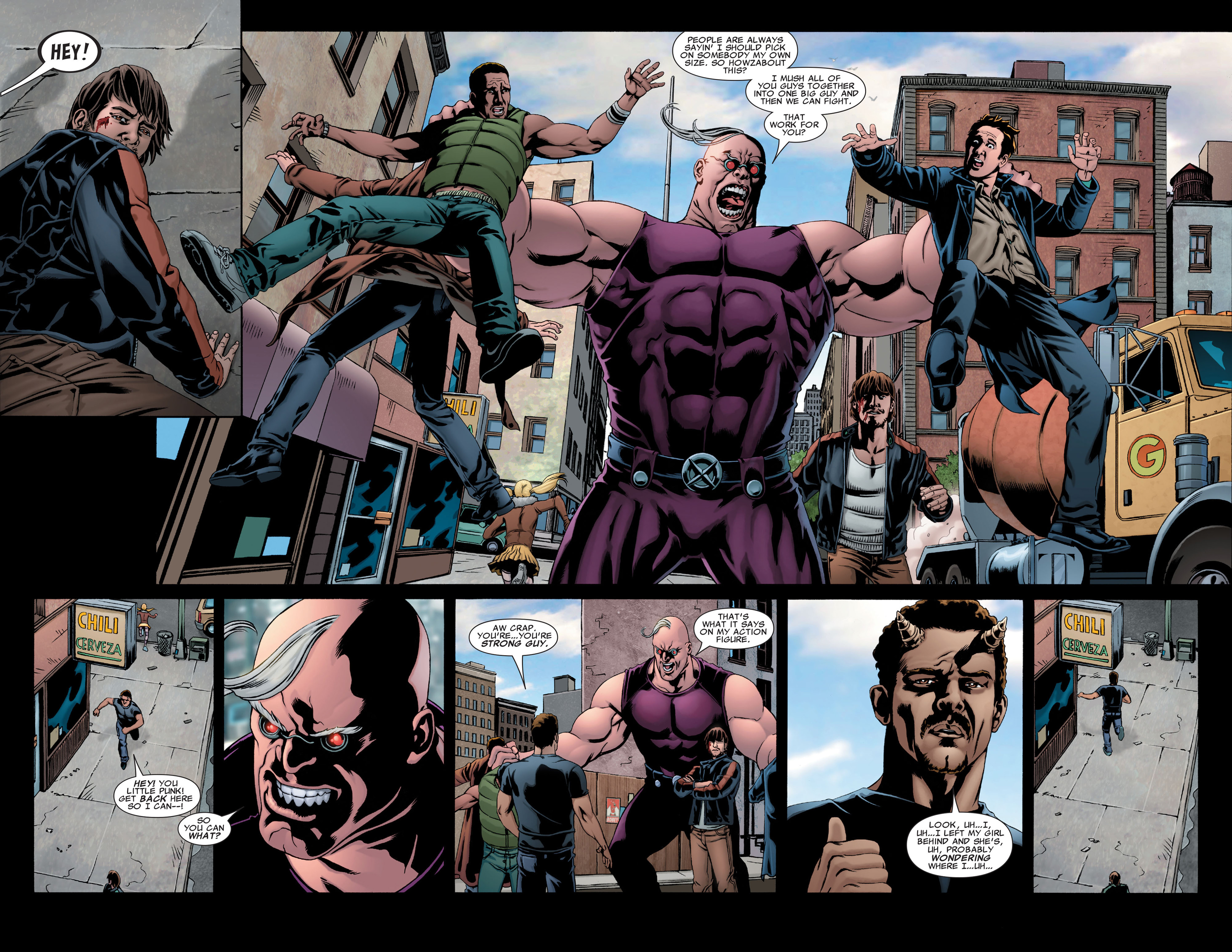 Read online X-Factor (2006) comic -  Issue #28 - 12