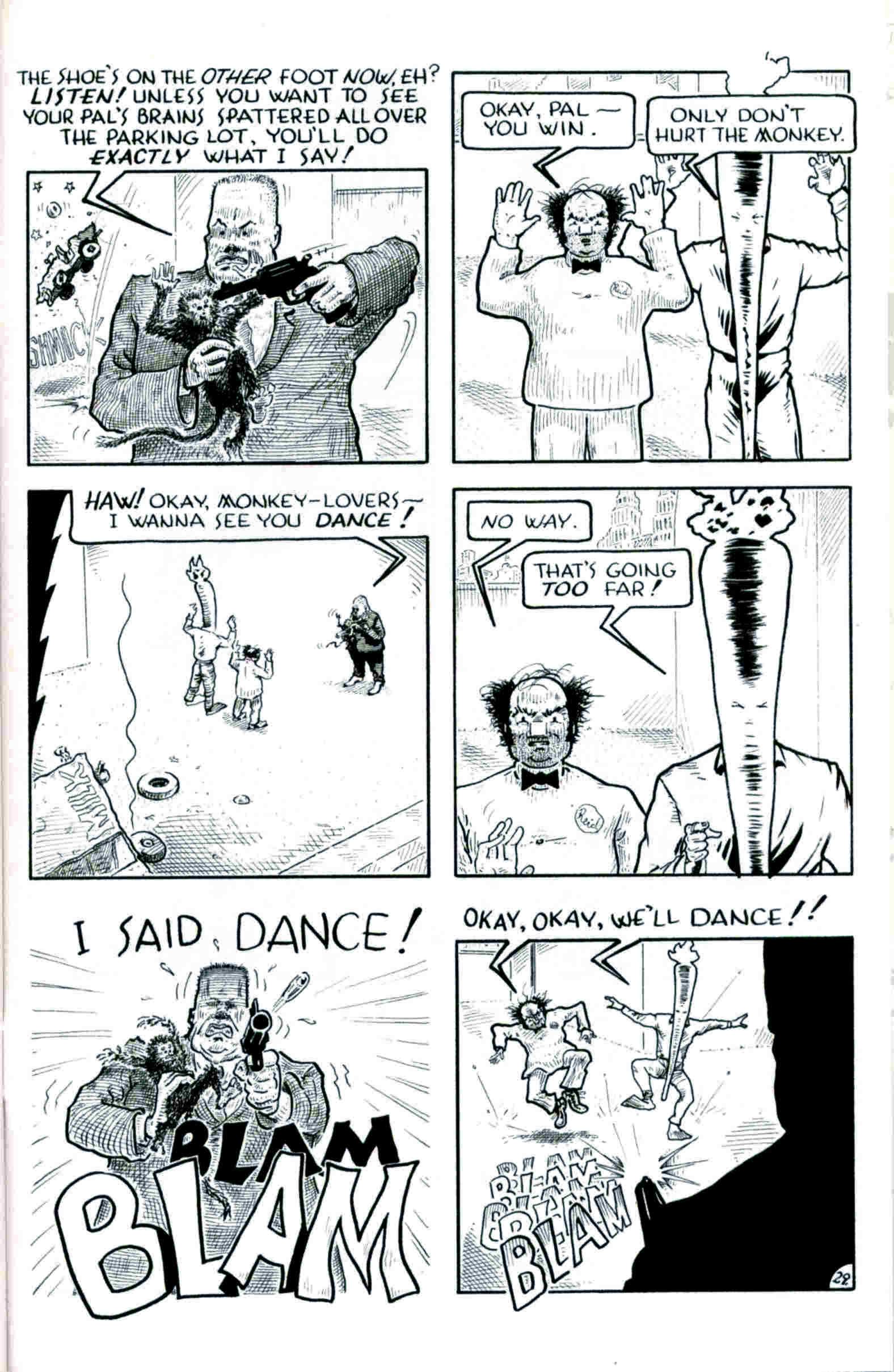 Read online Flaming Carrot & Reid Fleming, World's Toughest Milkman comic -  Issue # Full - 29