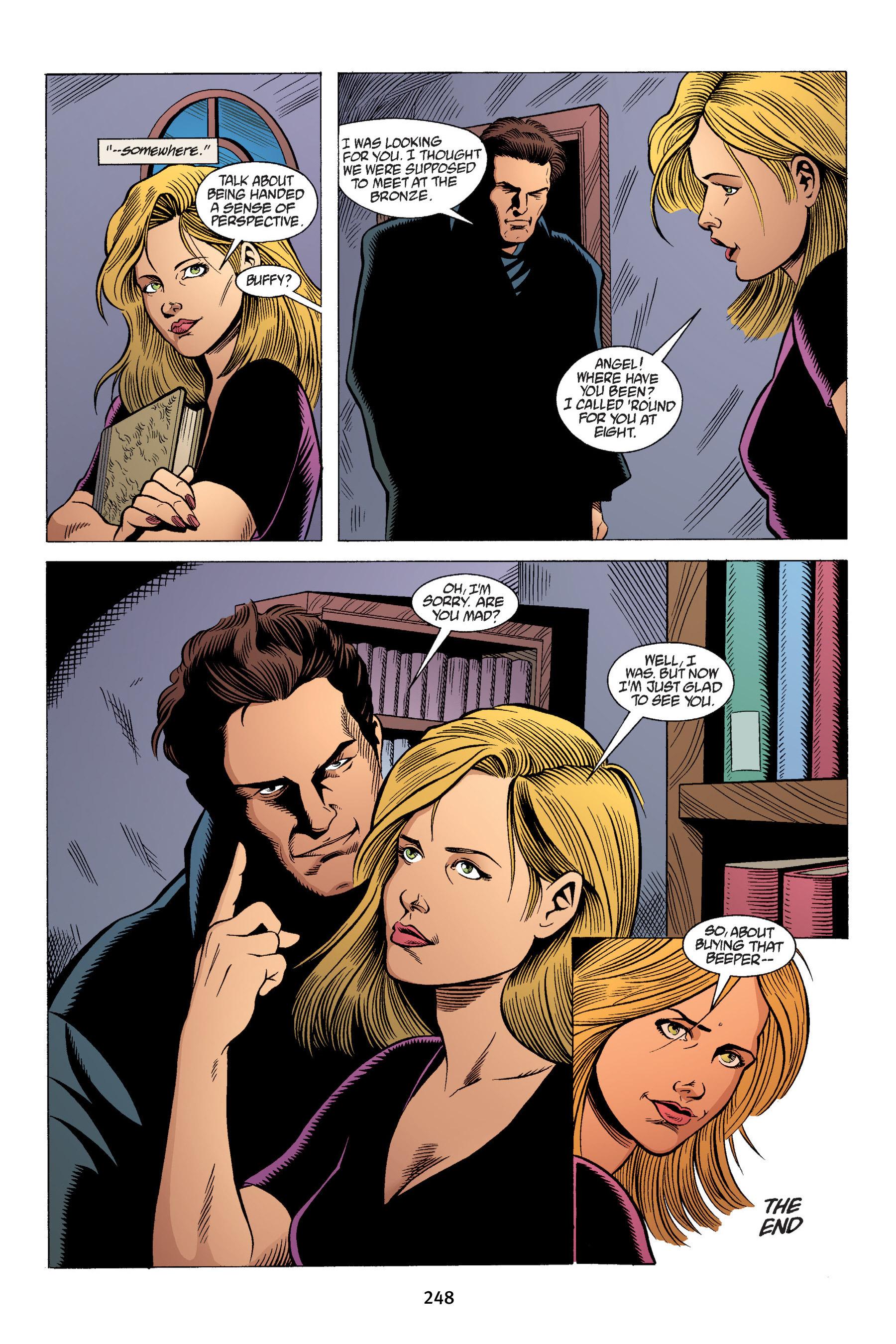 Read online Buffy the Vampire Slayer: Omnibus comic -  Issue # TPB 4 - 246