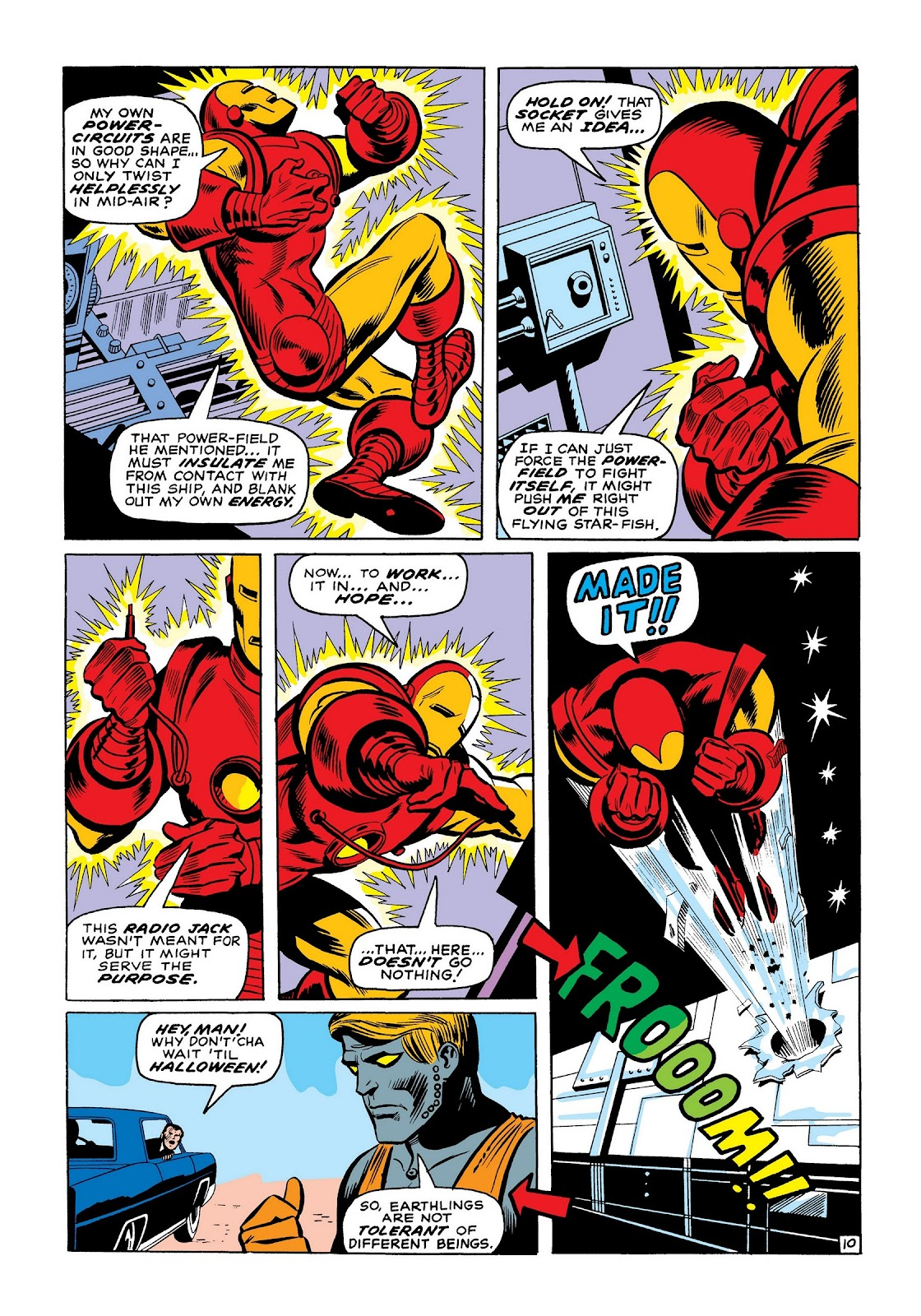 Read online Marvel Masterworks: The Invincible Iron Man comic -  Issue # TPB 7 (Part 2) - 39
