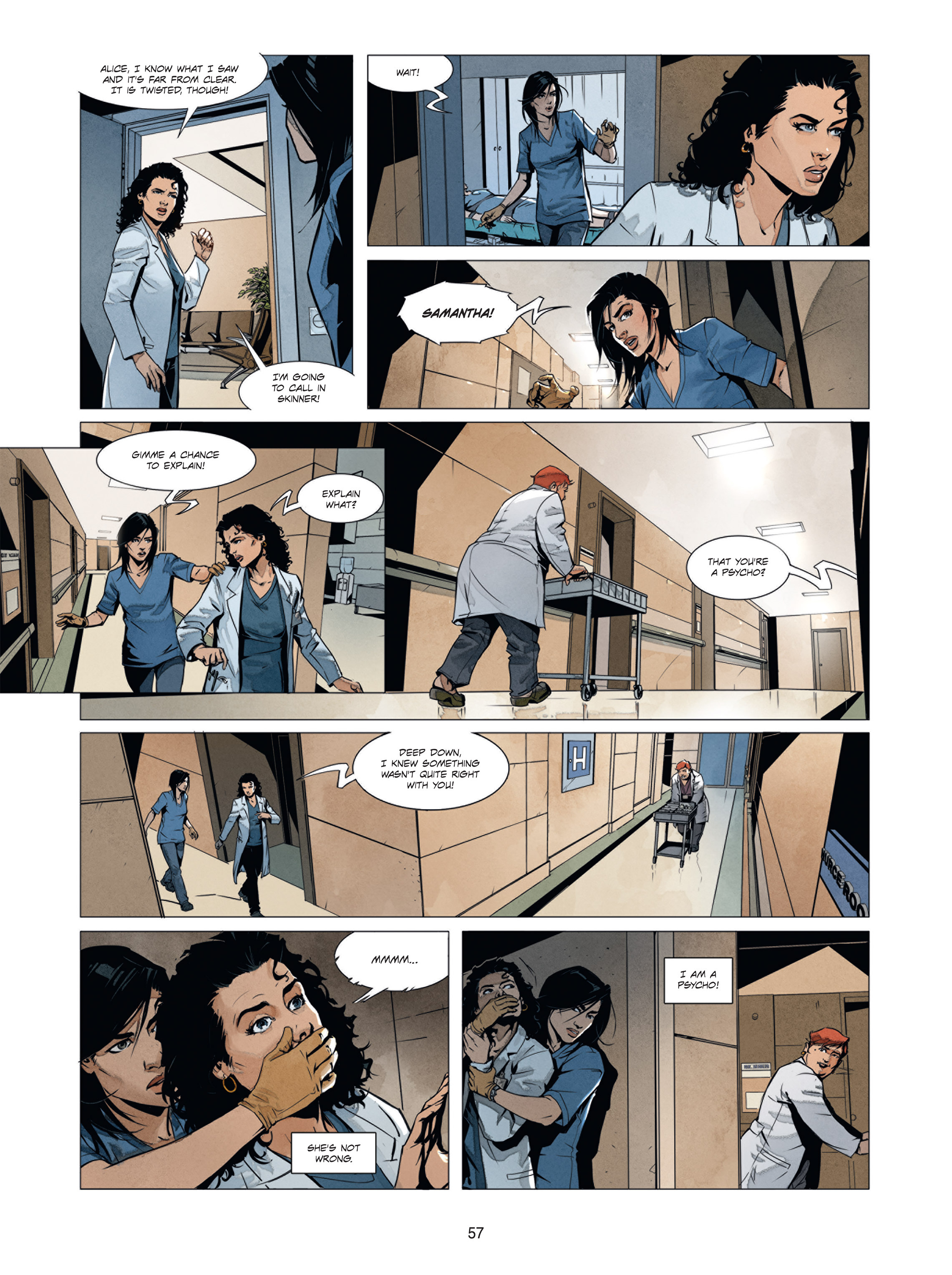Read online Alice Matheson comic -  Issue #1 - 56