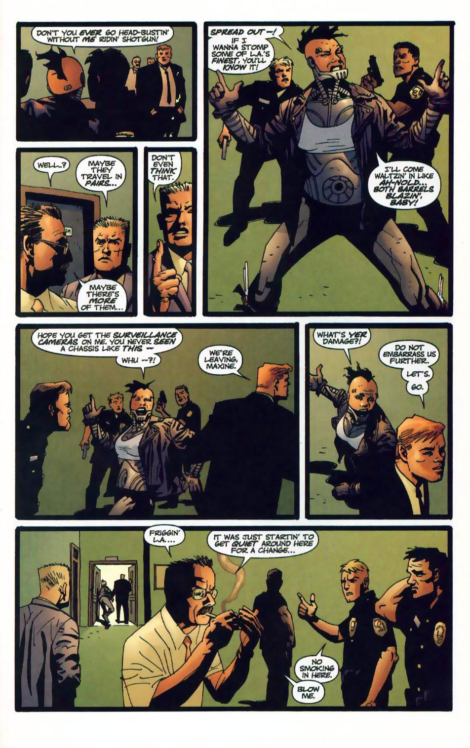 Wildcats (1999) Issue #14 #15 - English 21