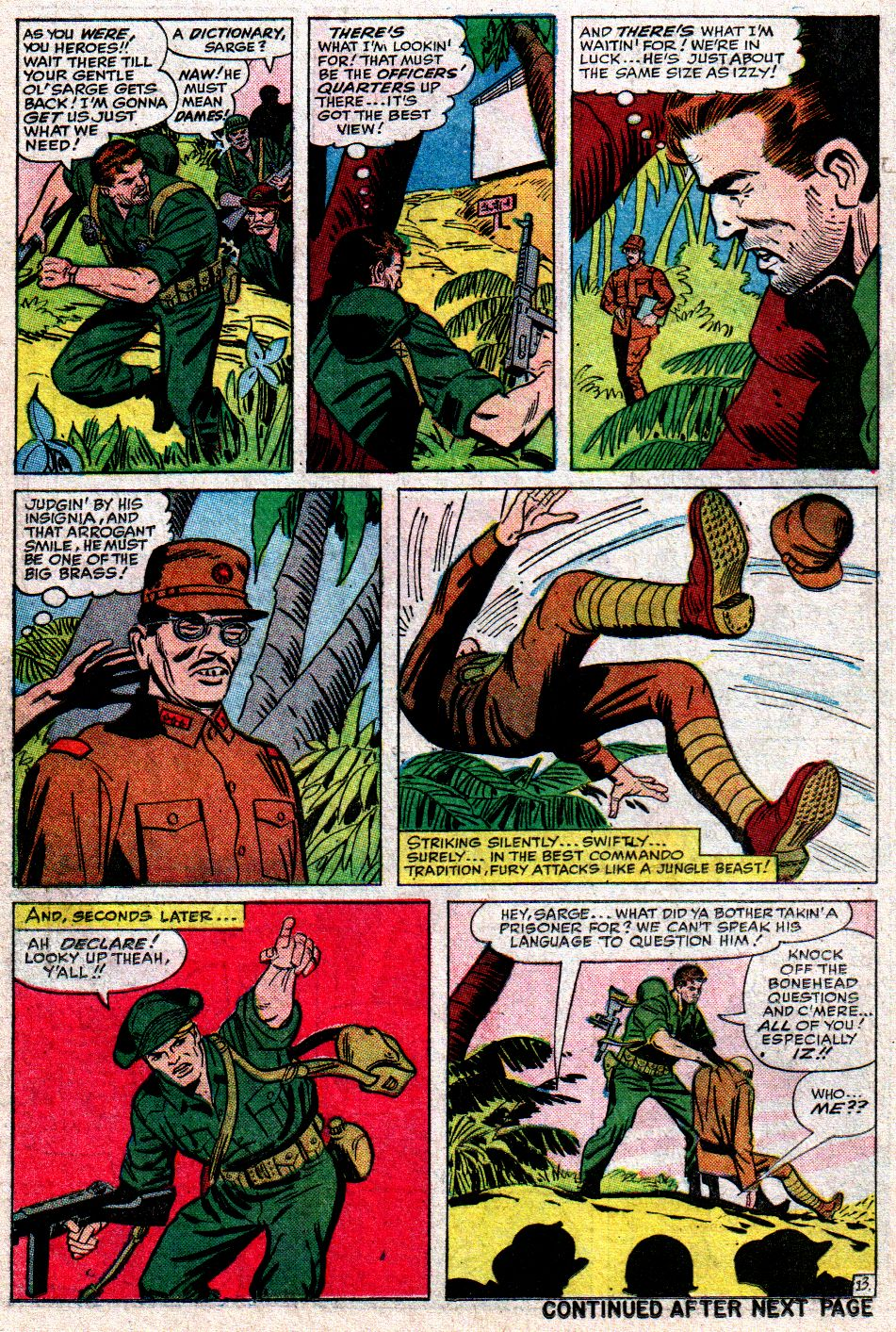 Read online Sgt. Fury comic -  Issue #10 - 18