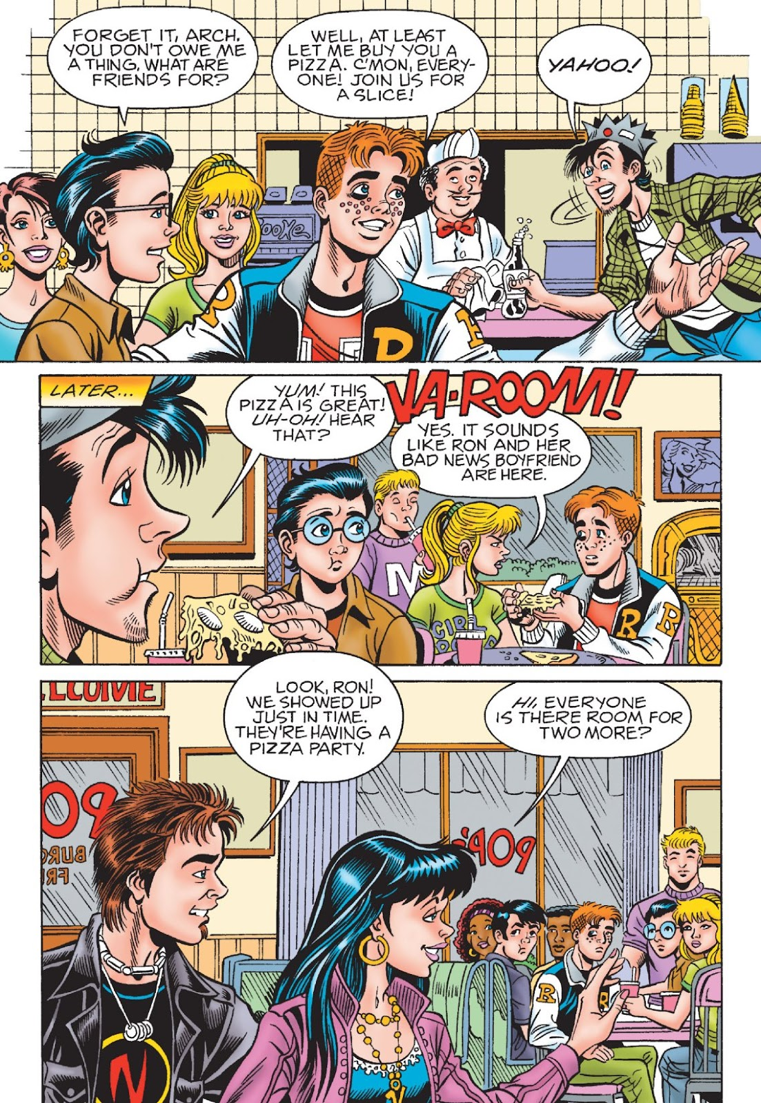 Read online Archie's New Look Series comic -  Issue #1 - 92