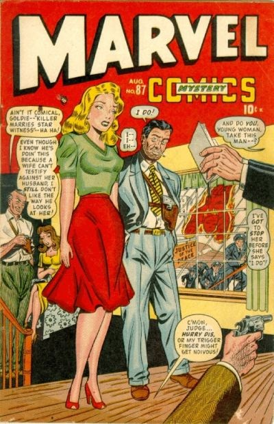 Marvel Mystery Comics (1939) issue 87 - Page 1