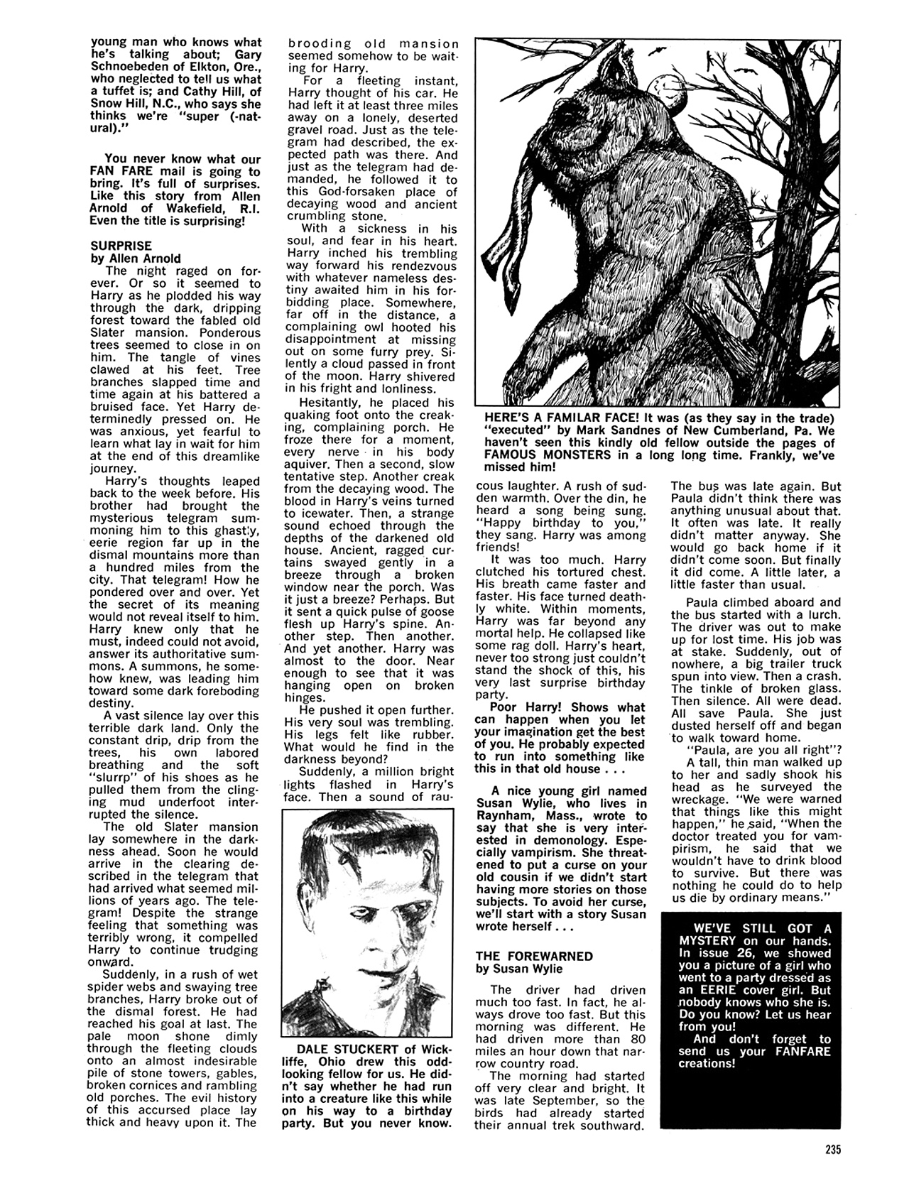Read online Eerie Archives comic -  Issue # TPB 5 - 236