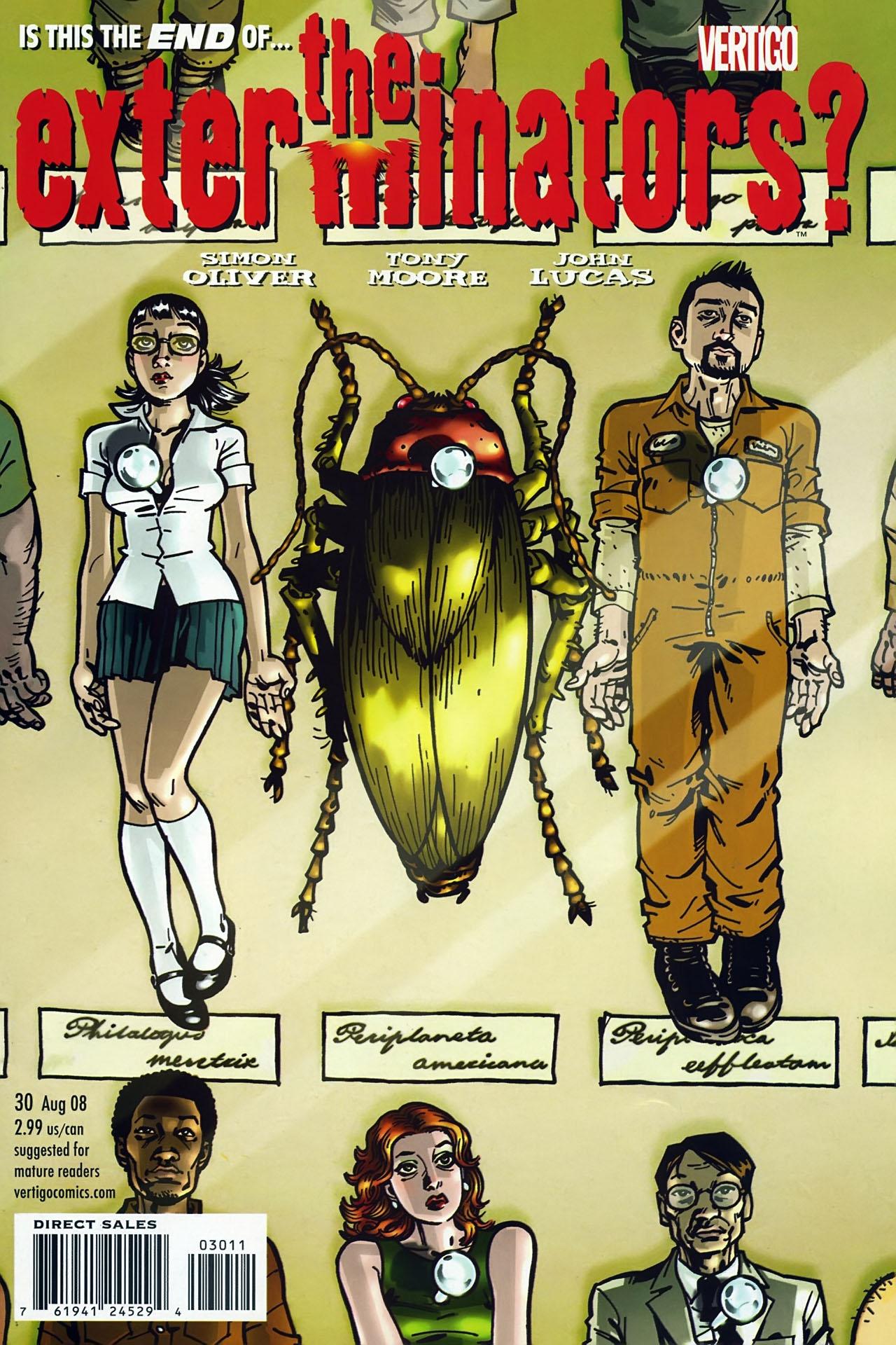 Read online The Exterminators comic -  Issue #30 - 1