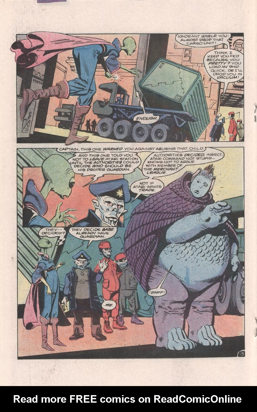 Read online Atari Force (1984) comic -  Issue #4 - 14