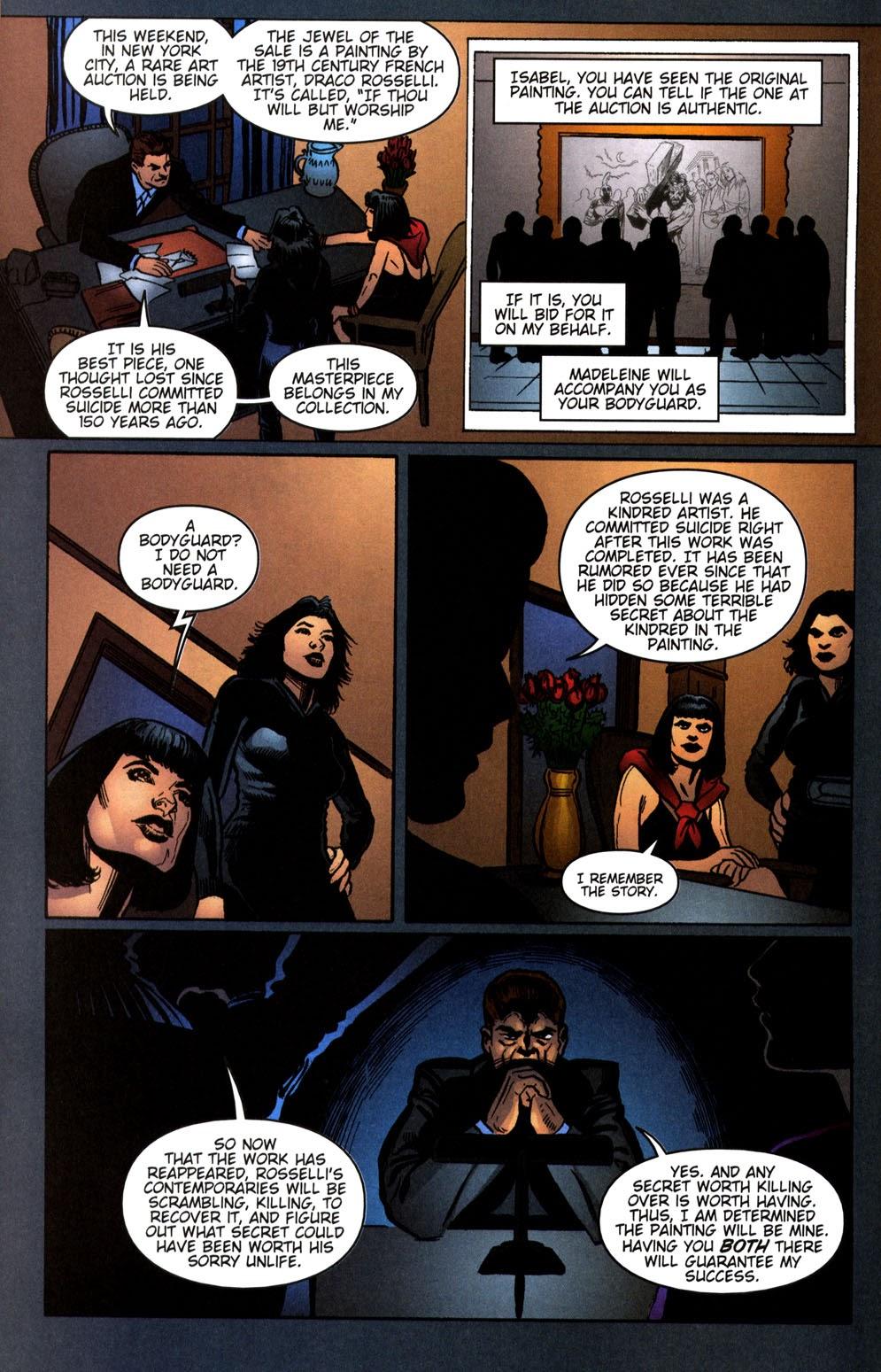 Read online Vampire the Masquerade comic -  Issue # Giovanni - 14
