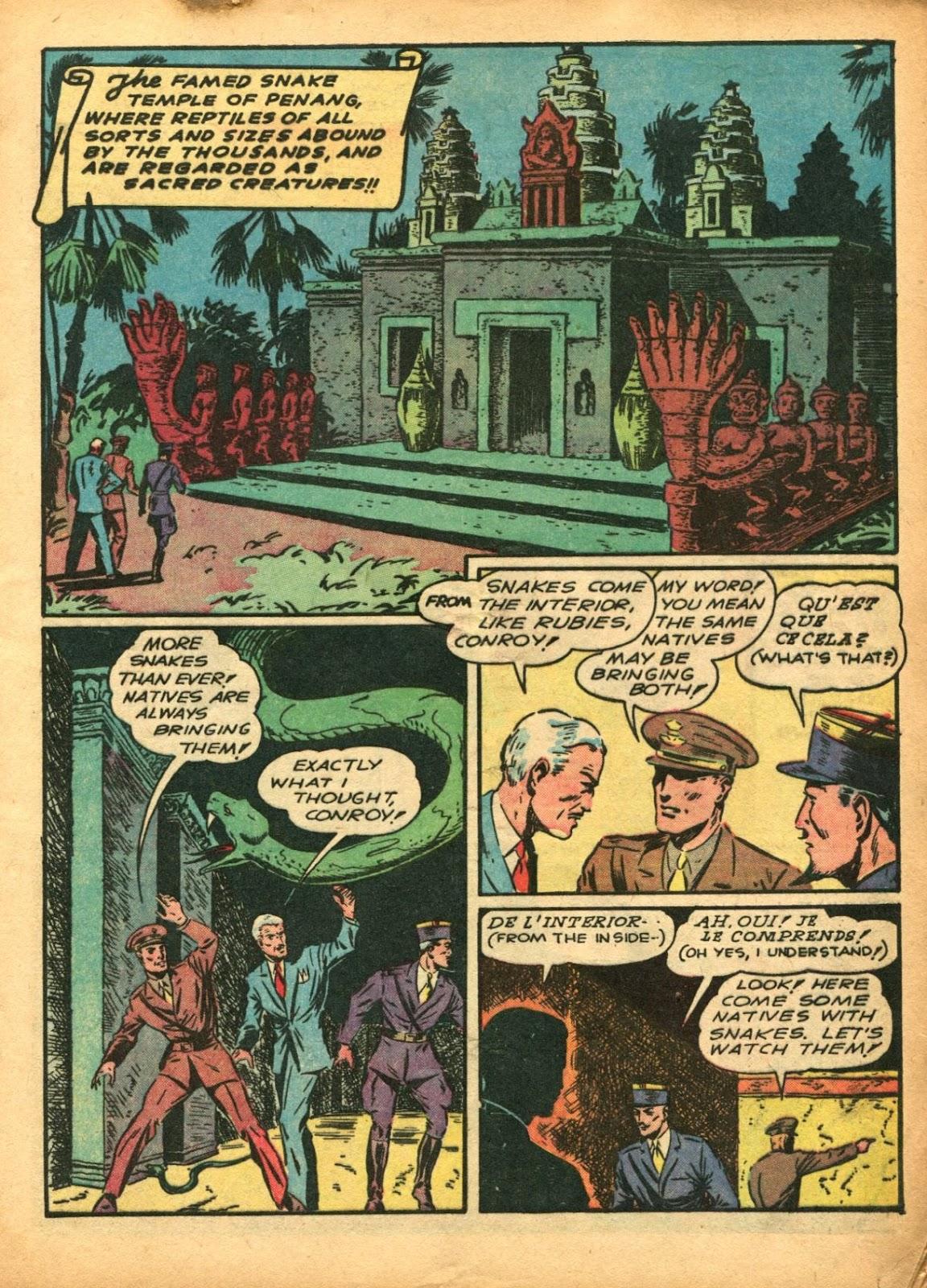 Read online Super-Magician Comics comic -  Issue #5 - 9