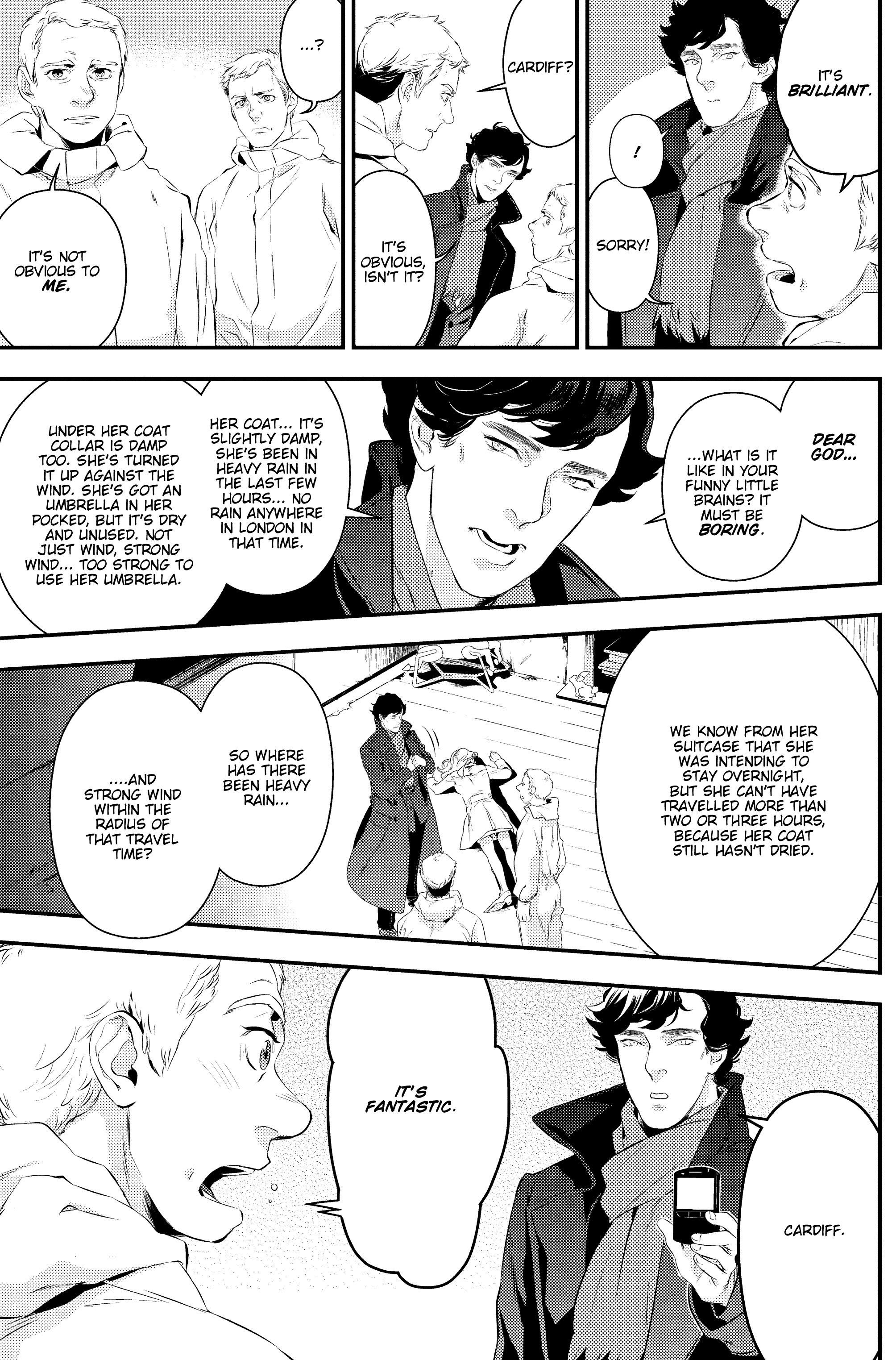 Read online Sherlock: A Study In Pink comic -  Issue #2 - 24