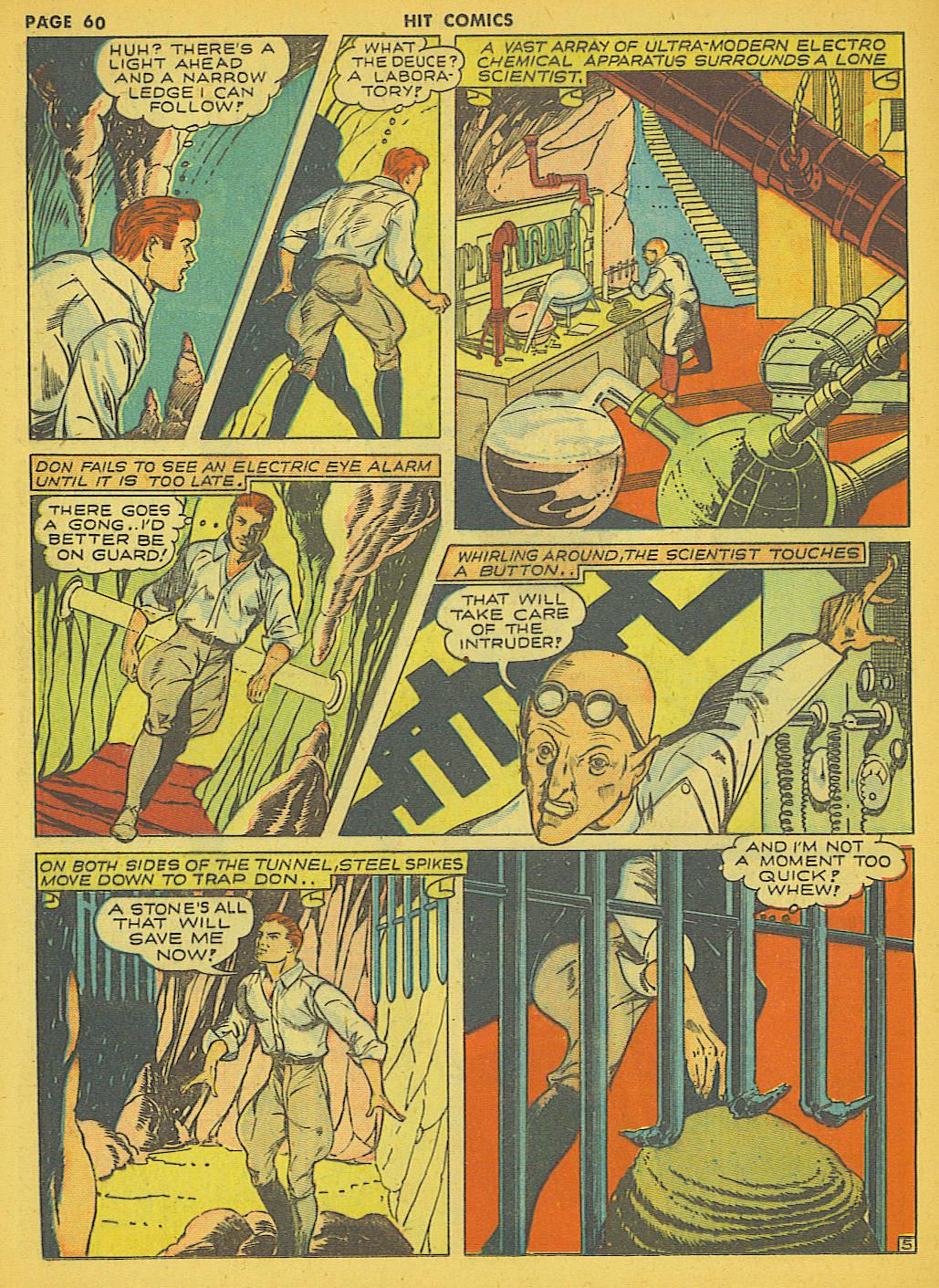 Read online Hit Comics comic -  Issue #21 - 62