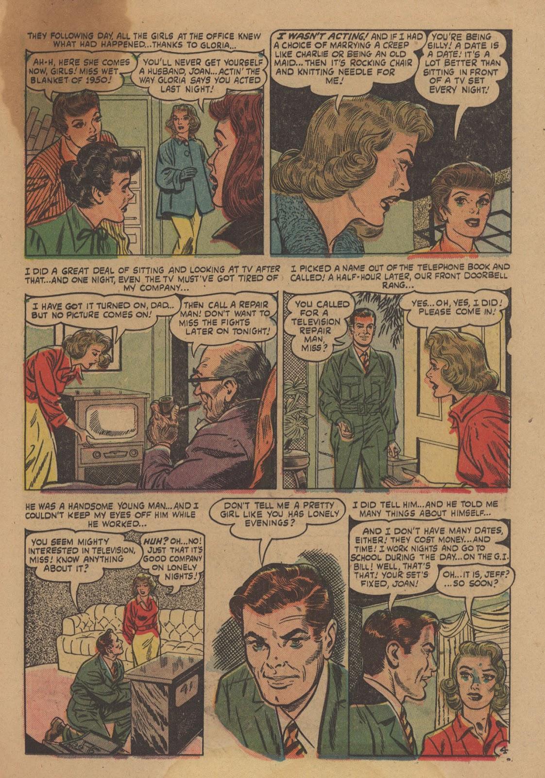 Love Romances (1949) issue 28 - Page 25