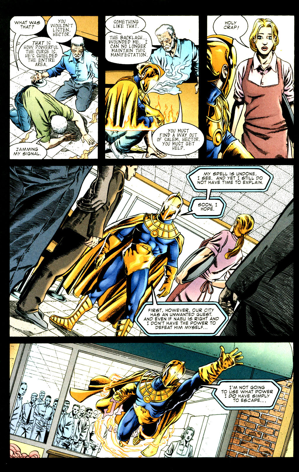 Read online Doctor Fate (2003) comic -  Issue #3 - 9